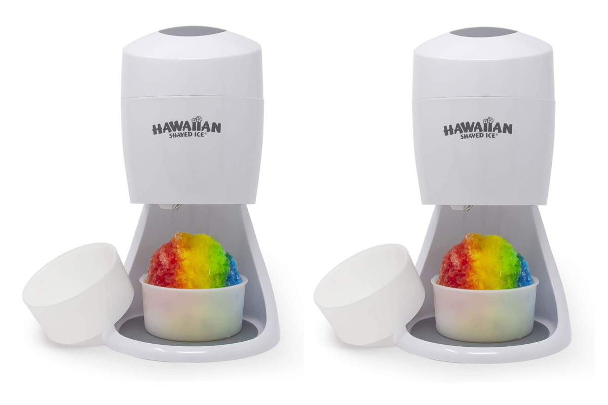 Hawaiian Shaved Ice S900A Shaved Ice and Snow Cone Machine
