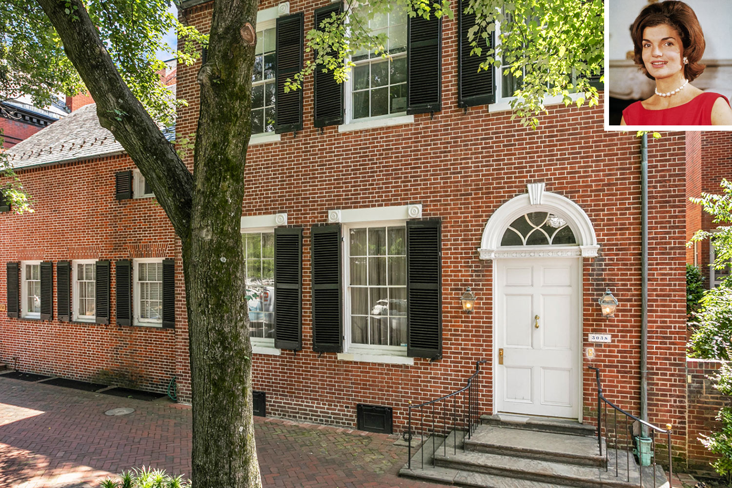Georgetown Jackie Kennedy house for sale
