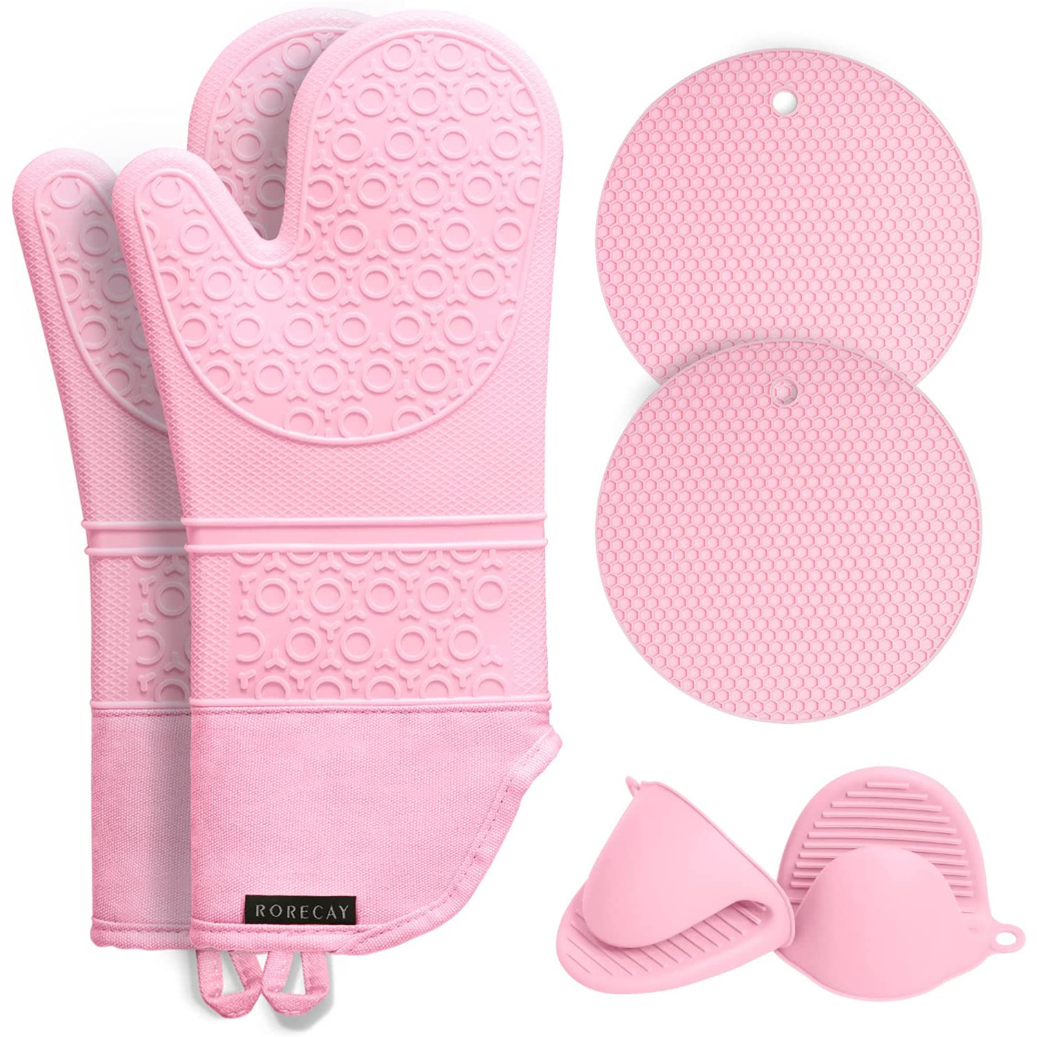 silicone oven mitts pot holders