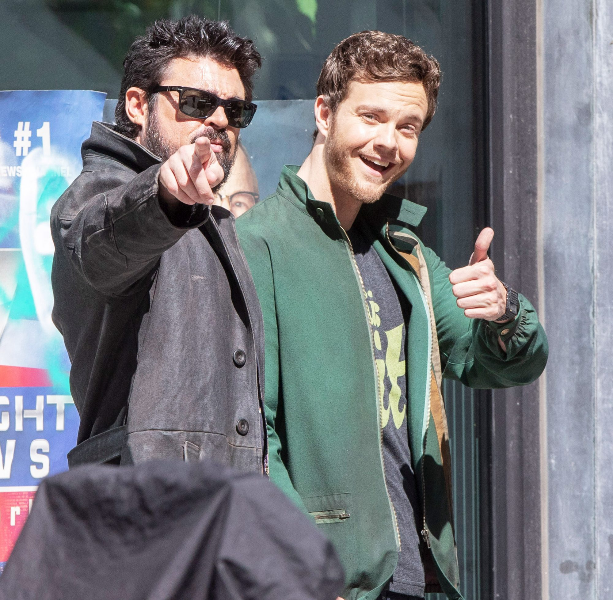 Karl Urban and Jack Quaid are Spotted Filming 'The Boys' in Toronto, Canada.