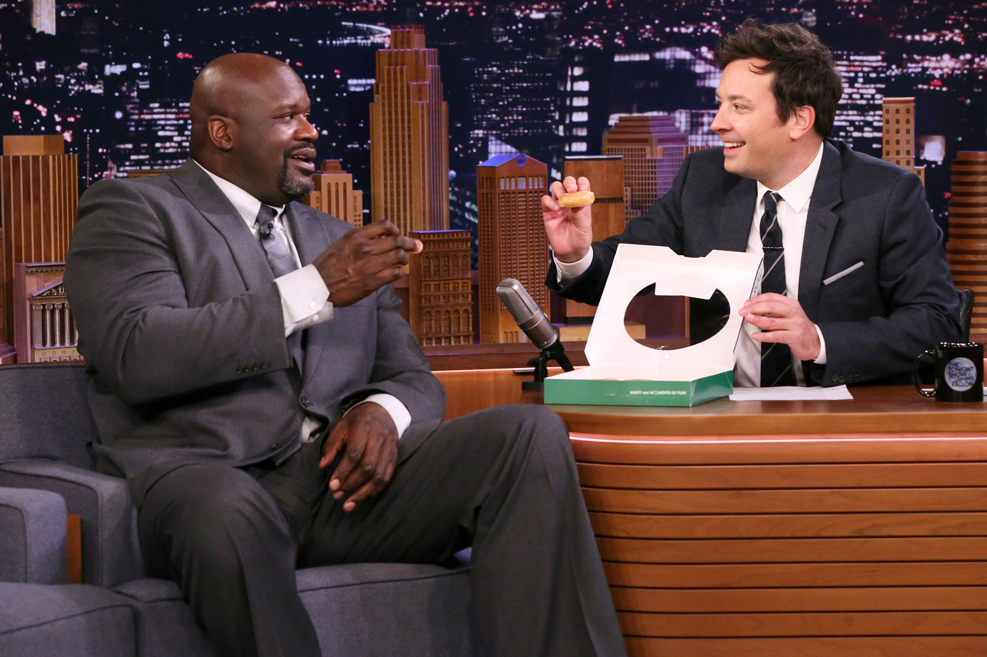 The Tonight Show Starring Jimmy Fallon - Shaquille O'Neal