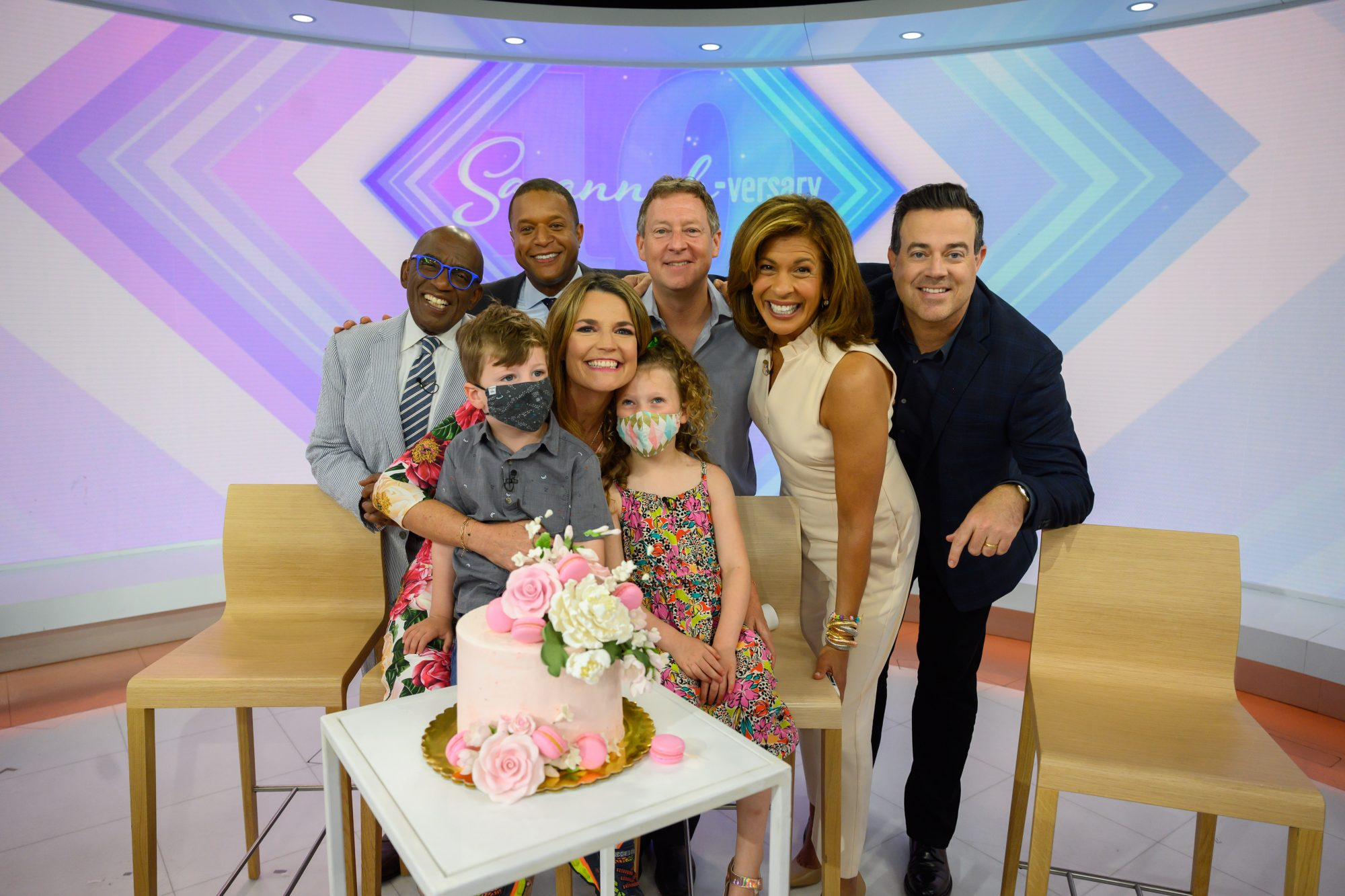 Savannah Guthrie's kids surprise her on Today show