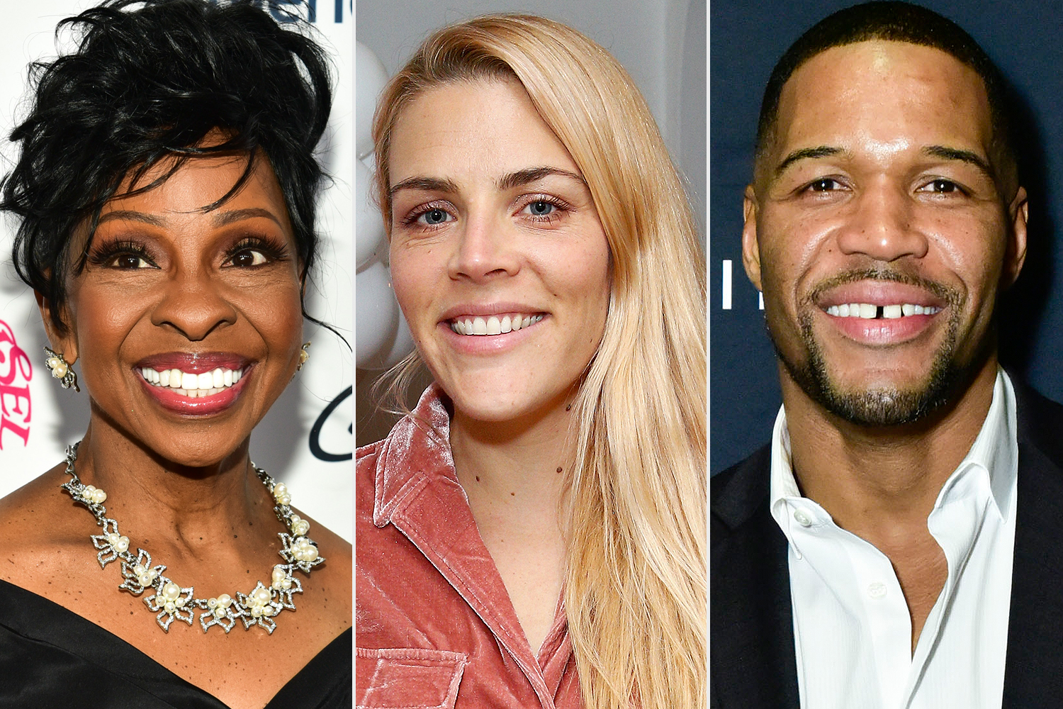 Gladys Knight, Busy Philipps, Michael Strahan