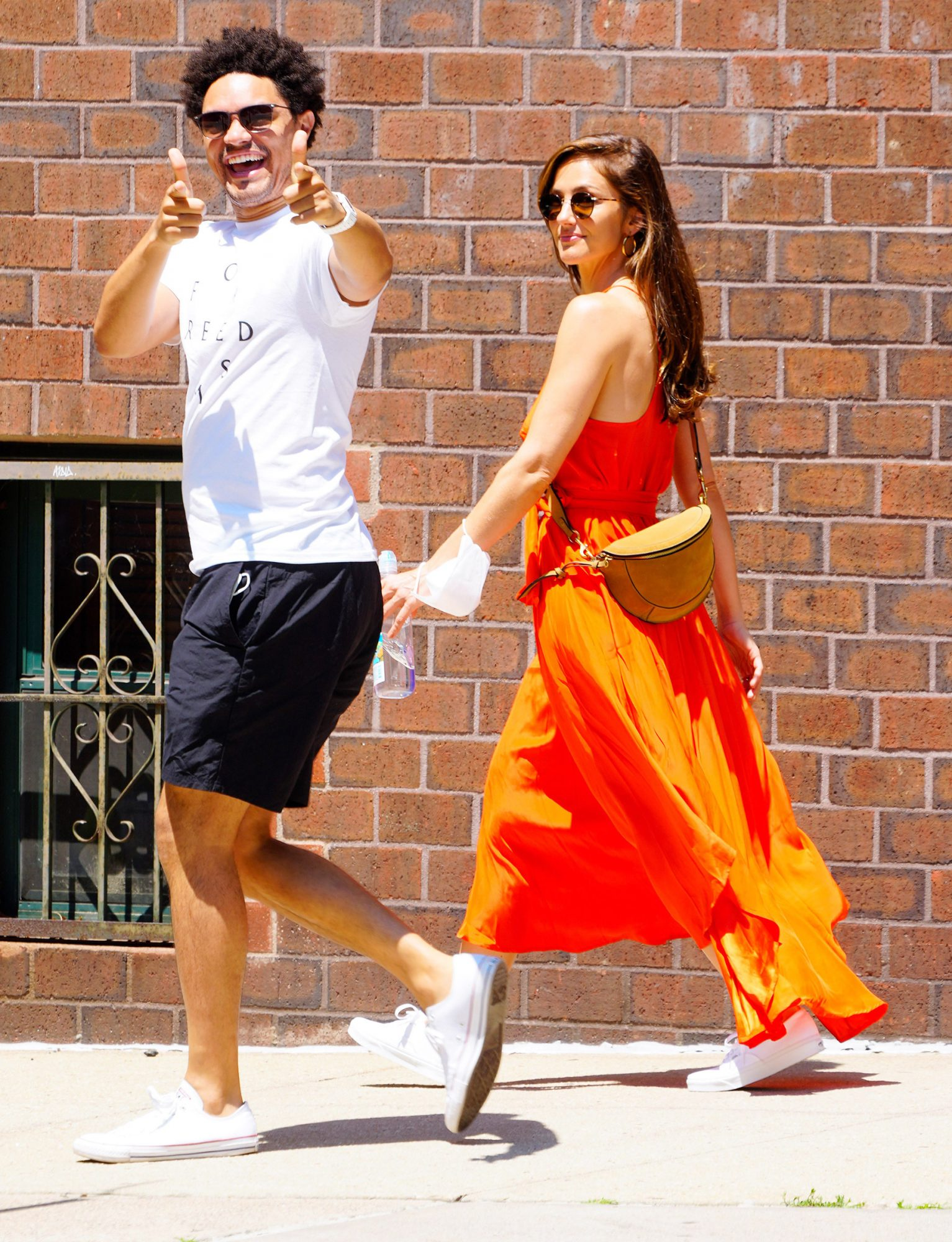 Trevor Noah and Minka Kelly Prove They Are Back Together As They Are Pictured Out on a Stroll in New York City.