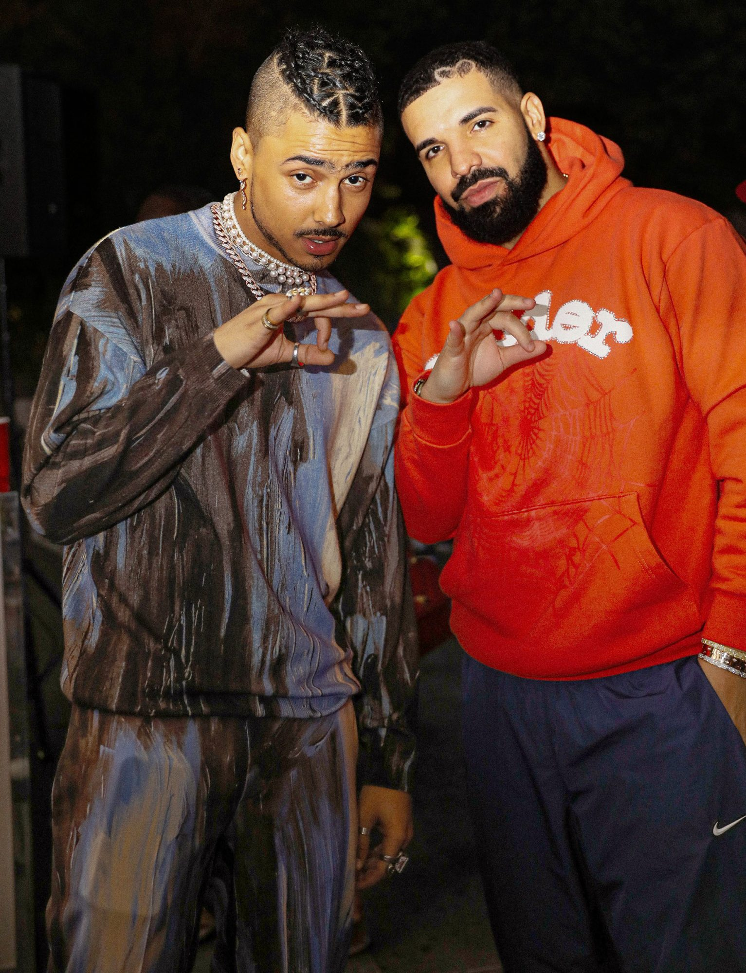 Drake and Quincy Brown at Quincy's 30th Birthday Party - On Saturday night, Diddy hosted from Miami, a special and private birthday party in an undisclosed area in Beverly Hills.