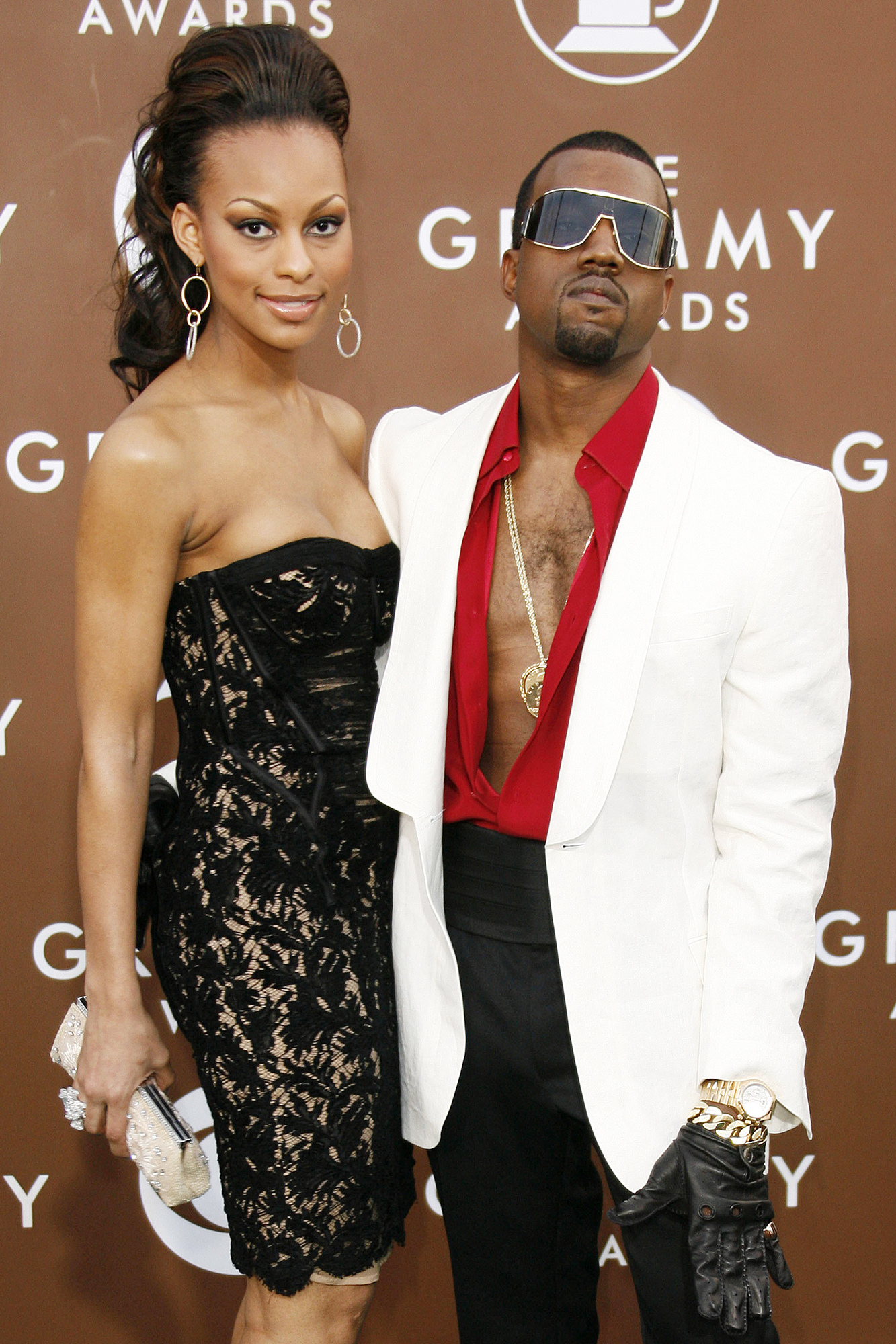 Kanye West and Brooke Crittendon