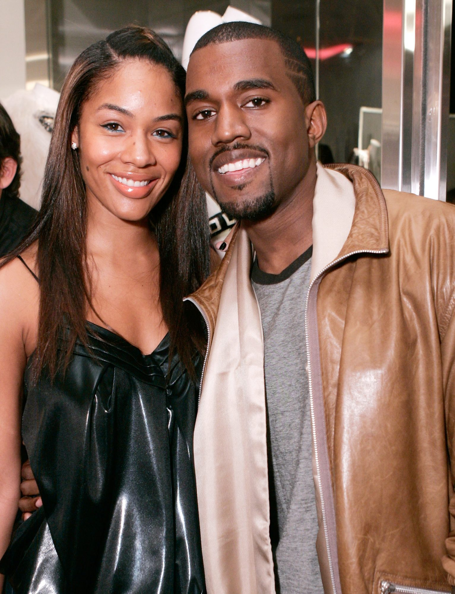 Alexis Pheiffer and Kanye West