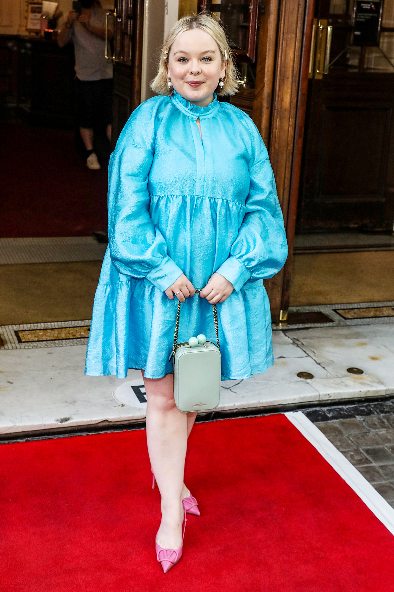 Celebrities seen attending the Gala Night for Alyssa: Memoirs of a Queen at the Vaudeville Theatre in London. 10 Jun 2021 Pictured: Nicola Coughlan.