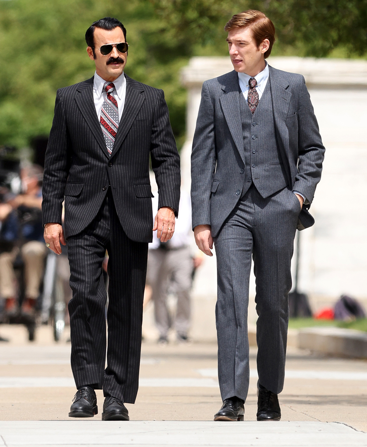 Justin Theroux Dohnmall Gleeson