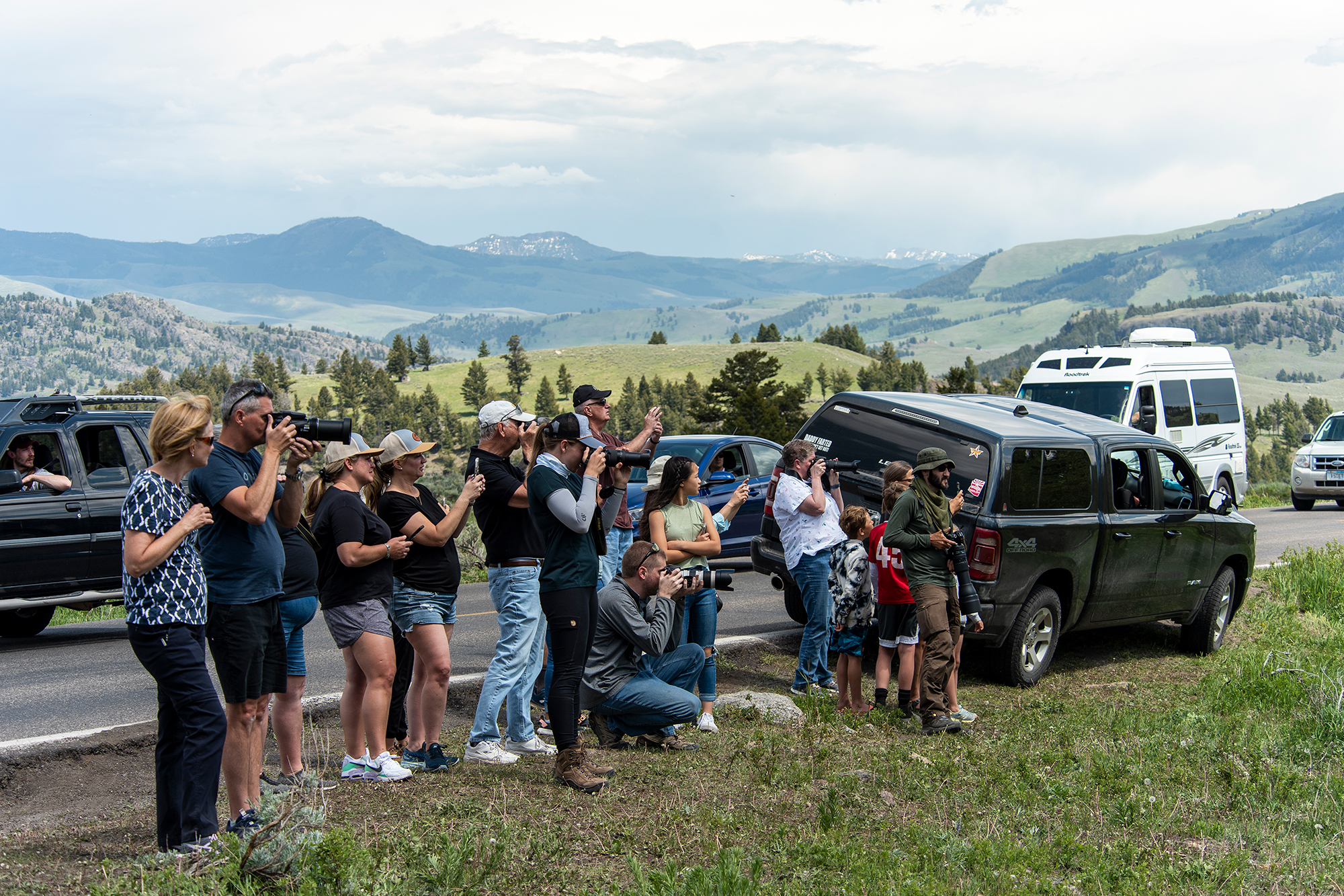 Yellowstone Sees Record Numbers Of Visitors As It Fully Reopens