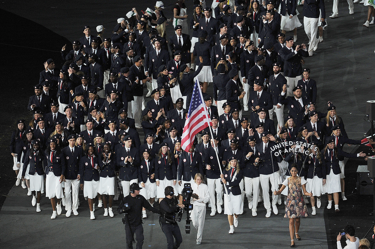 USA Olympic Uniforms Through the Years