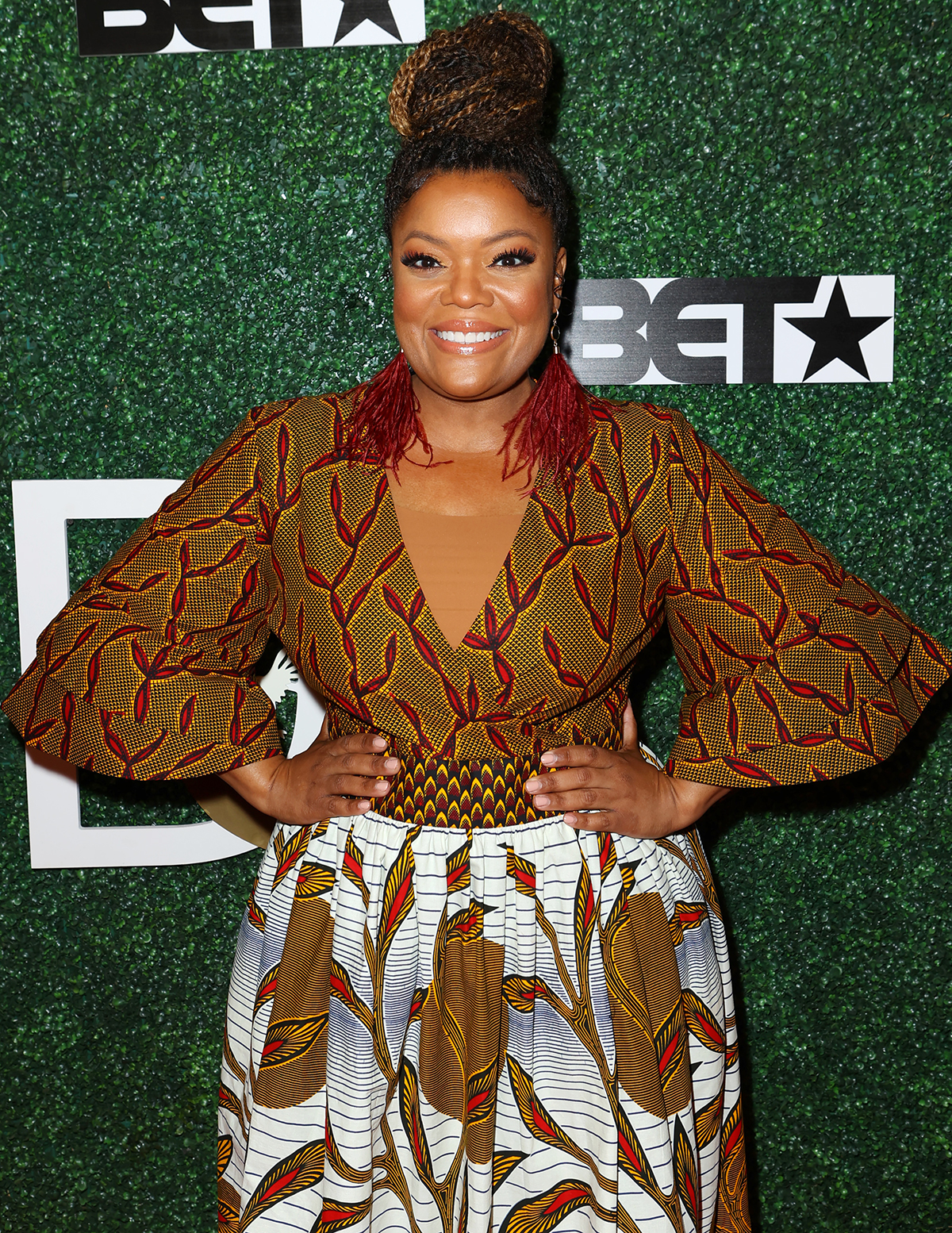 Actress Yvette Nicole Brown attends The Diaspora Dialogues' 3rd Annual International Women Of Power Luncheon at Arbat Banquet Hall on March 07, 2020 in Burbank, California.