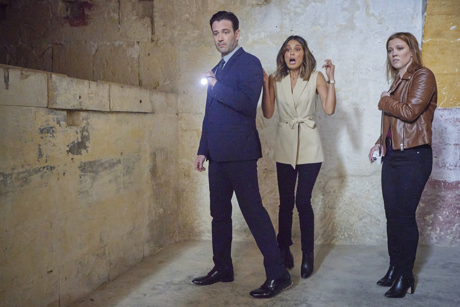 Colin Donnell; Patti Murin; 'To Catch a Spy'