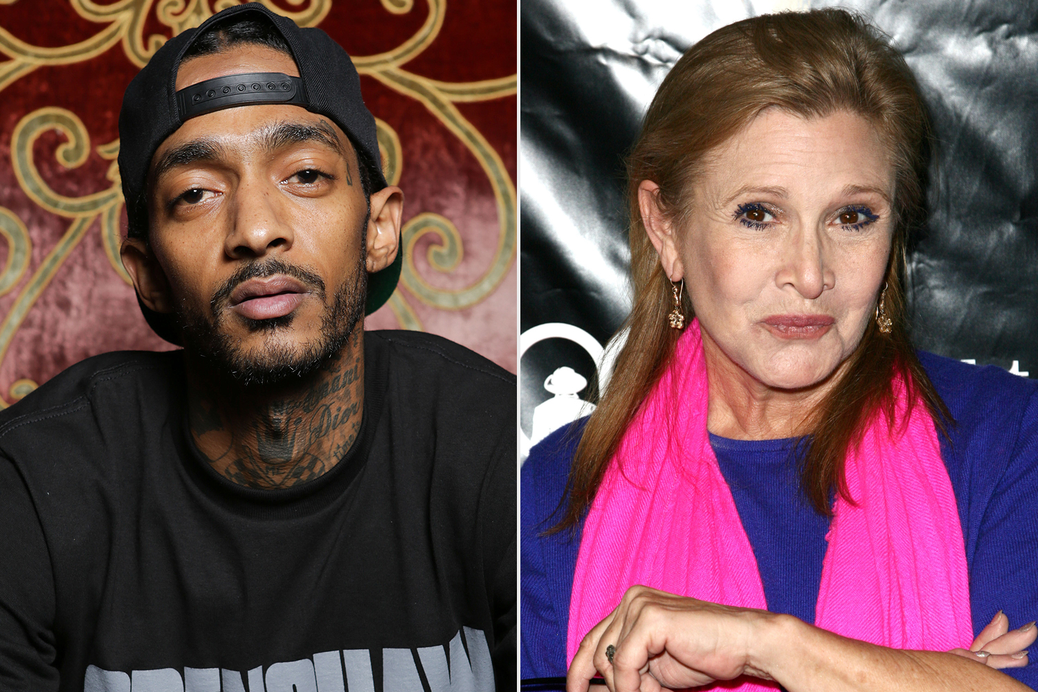 Nipsey Hussle, Carrie Fisher