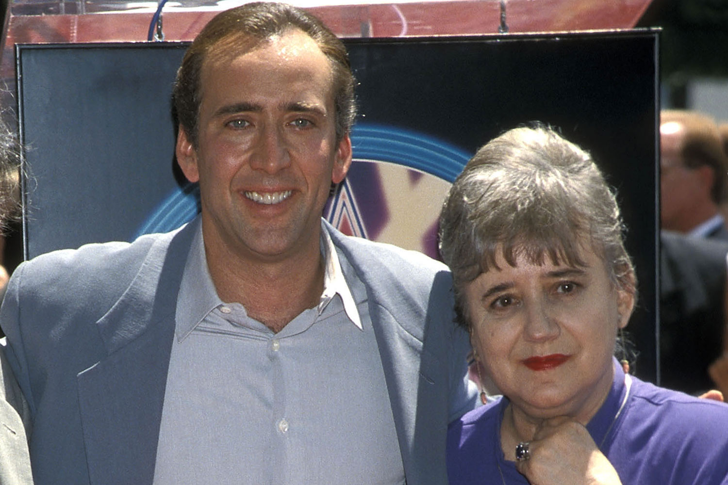 nicholas cage and mother