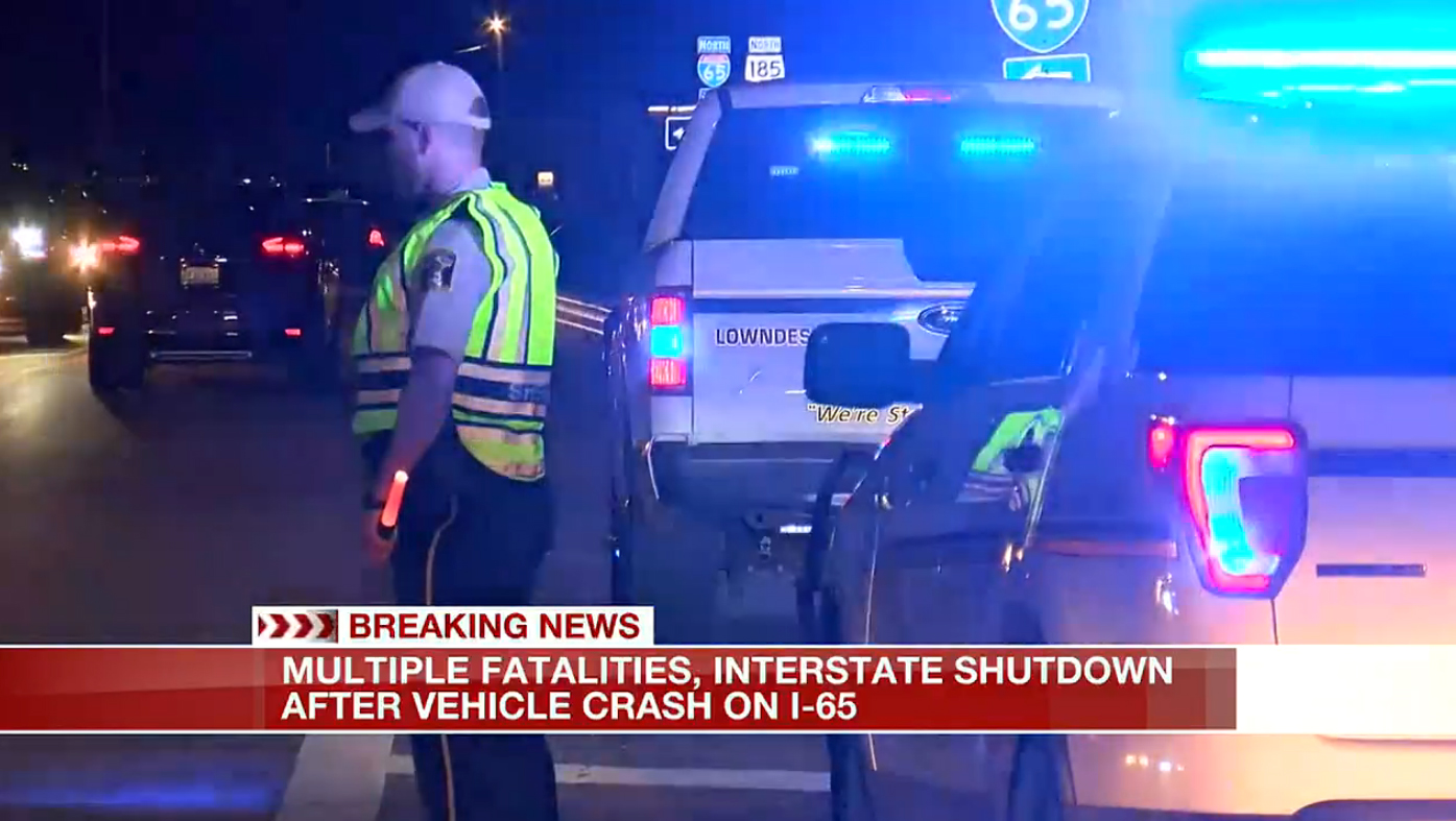Nine children and one adult were killed in an accident on Interstate 65 in Butler County, Alabama