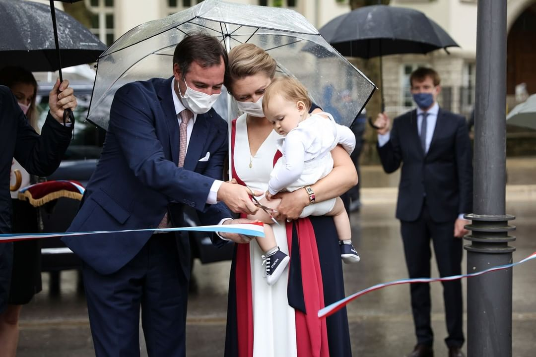 Prince Charles of Luxembourg Joins Parents on a ROyal Outing