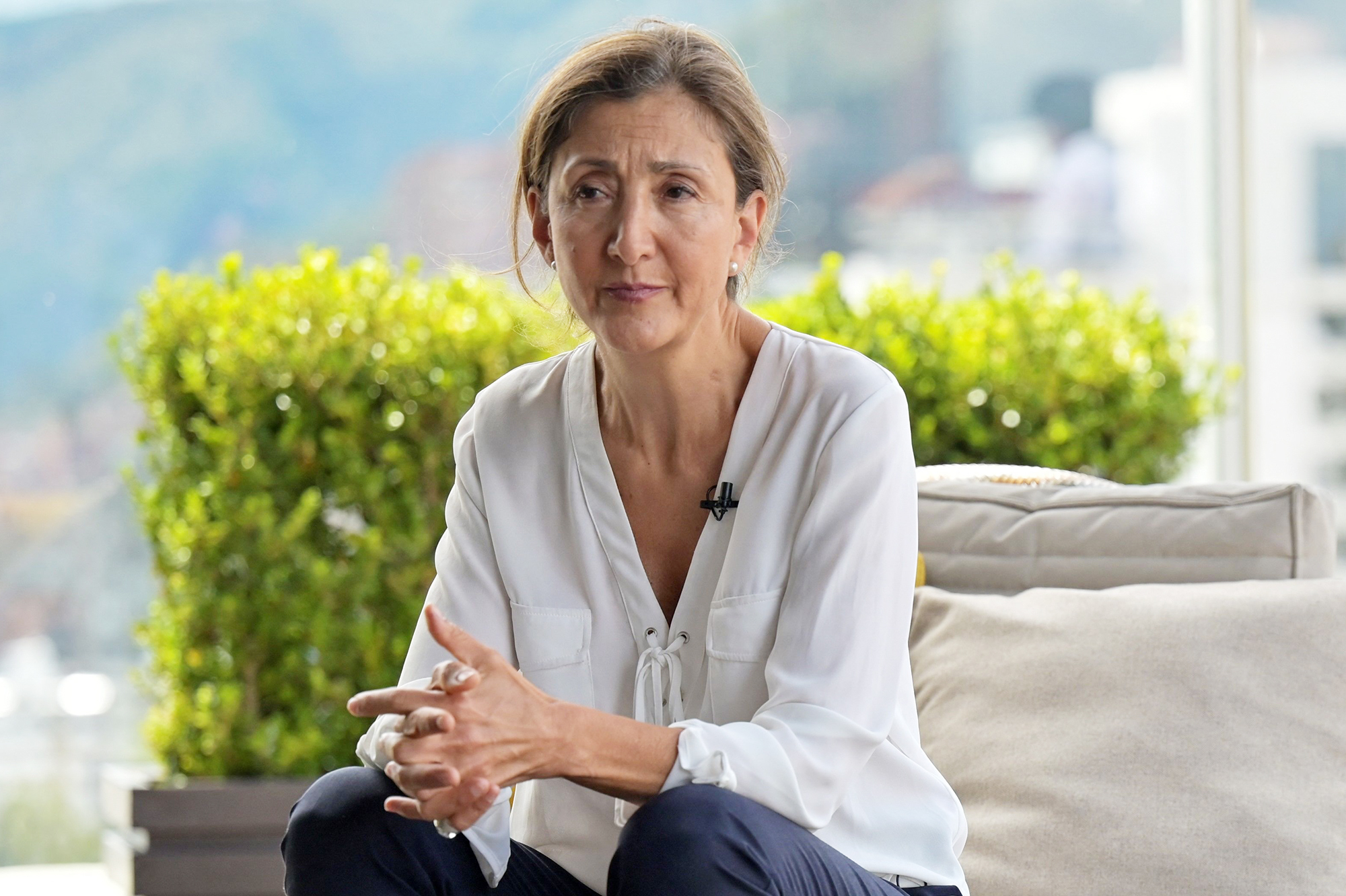 Franco-Colombian politician and former presidential candidate Ingrid Betancourt