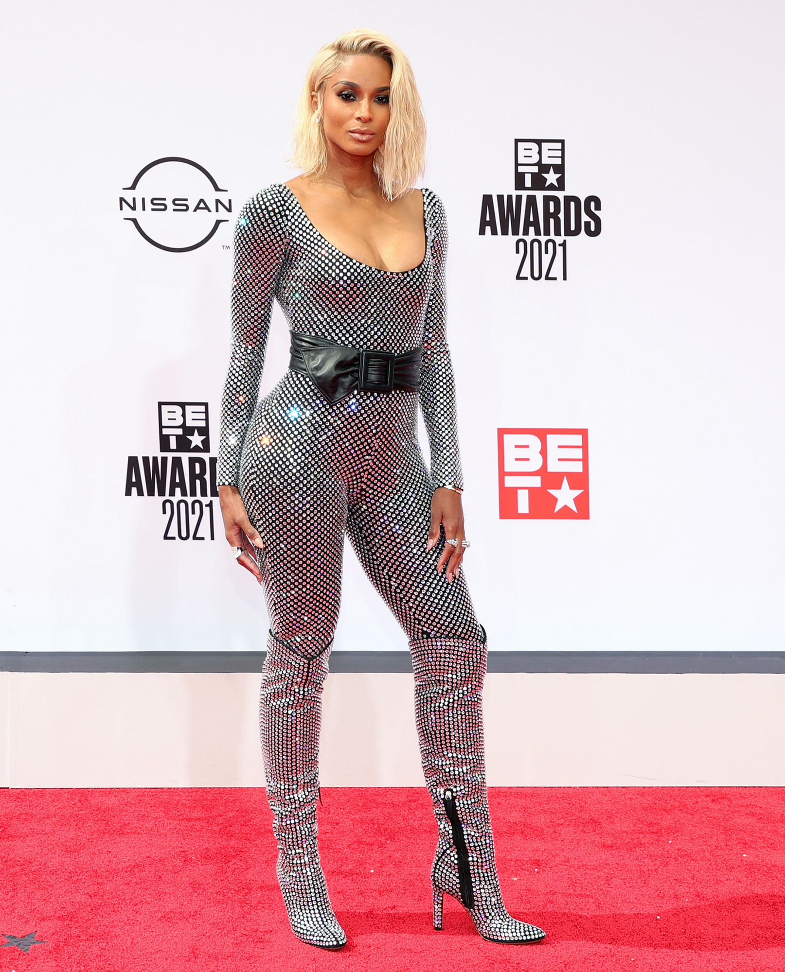 Ciara attends the BET Awards 2021