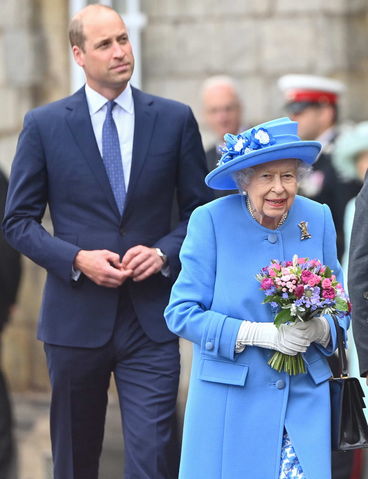 The Queen And The Duke Of Cambridge Attend The Ceremony of the Keys