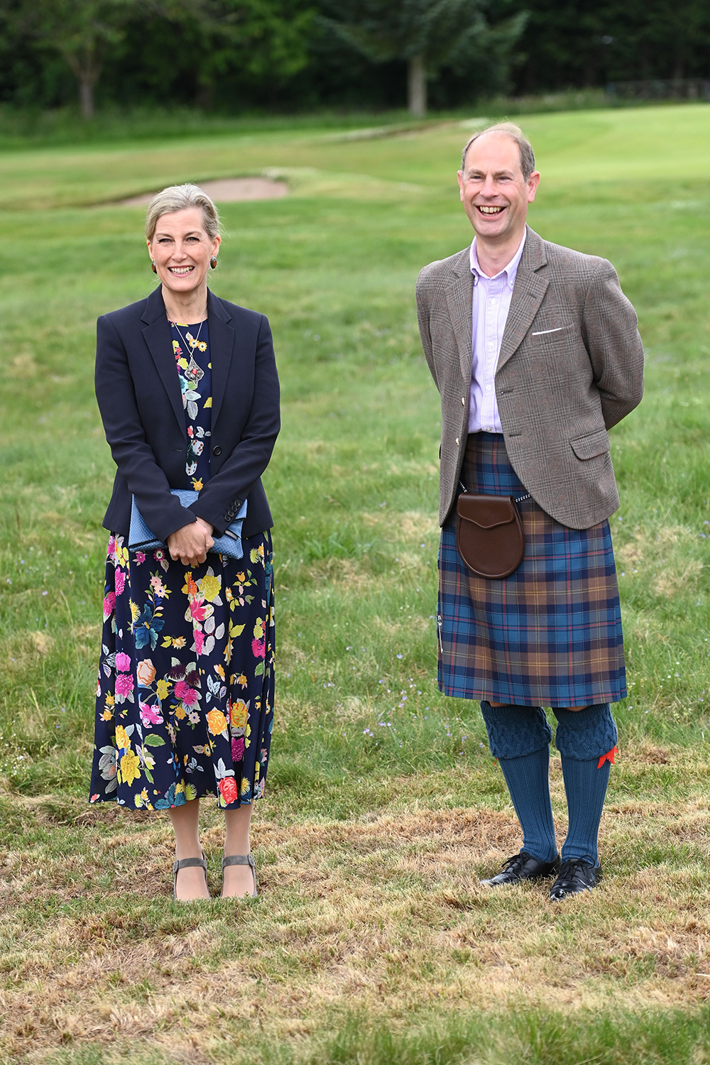 Prince Edward and Sophie Countess of Wessex