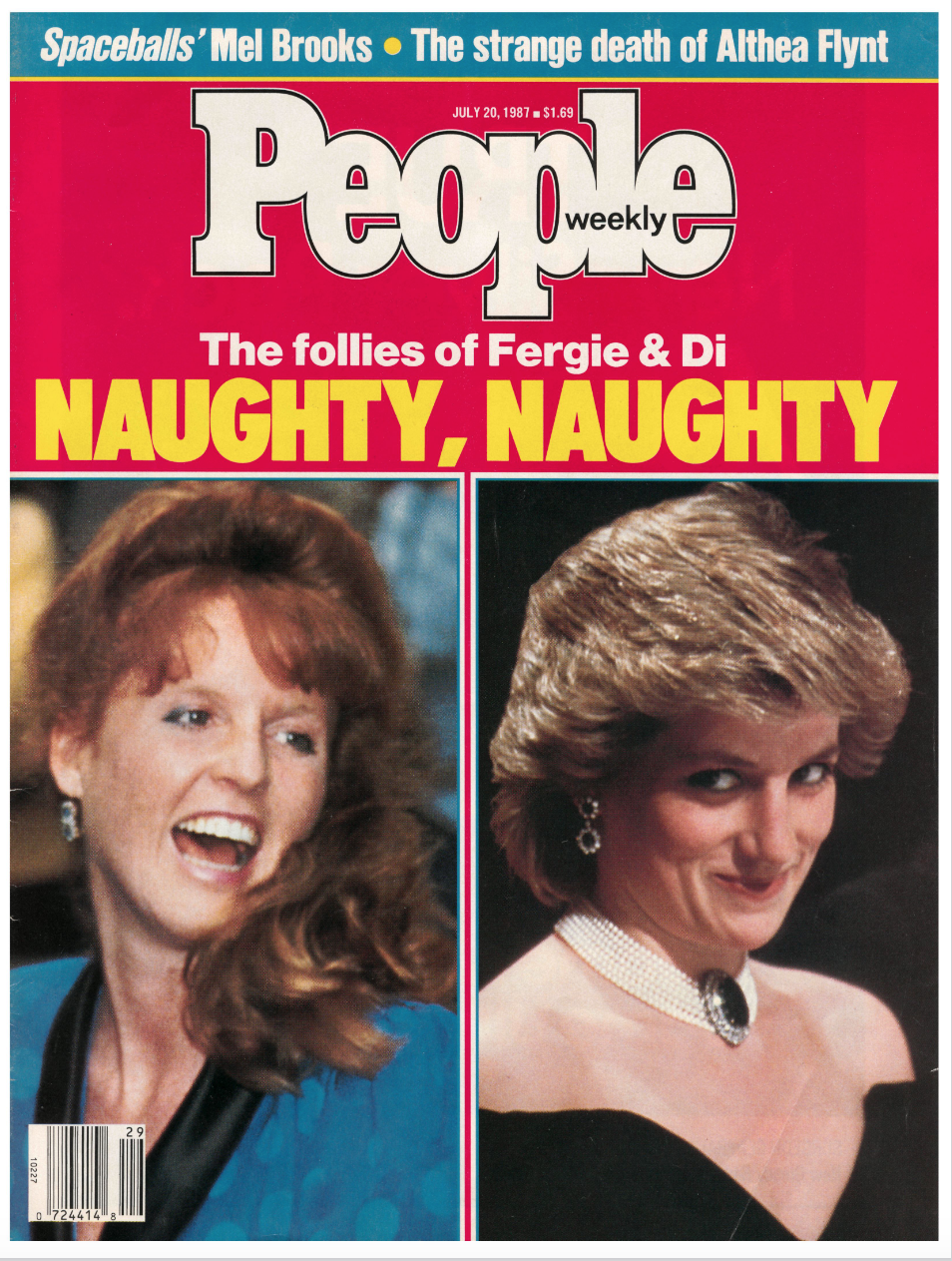 """The friendship between Fergie, then 27, and 26-year-old Diana was given a a misogynistic spin in much of the press throughout the 1980s. Dubbing the """"naughty"""" royal wives """"that international fun couple,"""" PEOPLE's 1987 cover story said, """"Di relishes Sarah's lighthearted company."""""""
