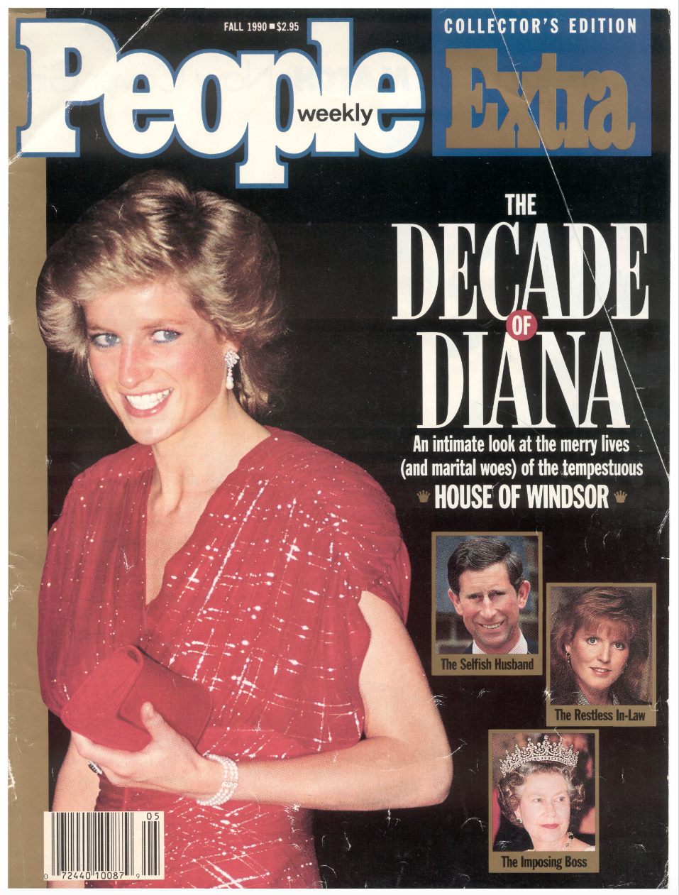 Princess Diana on the cover of People Magazine