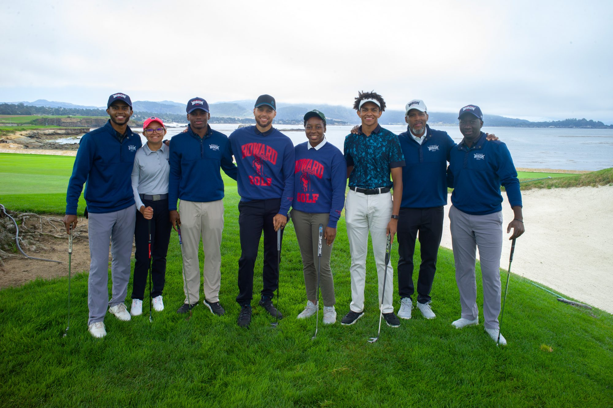 Stephen Curry Bison at the Beach Inaugural Golf Classic 2