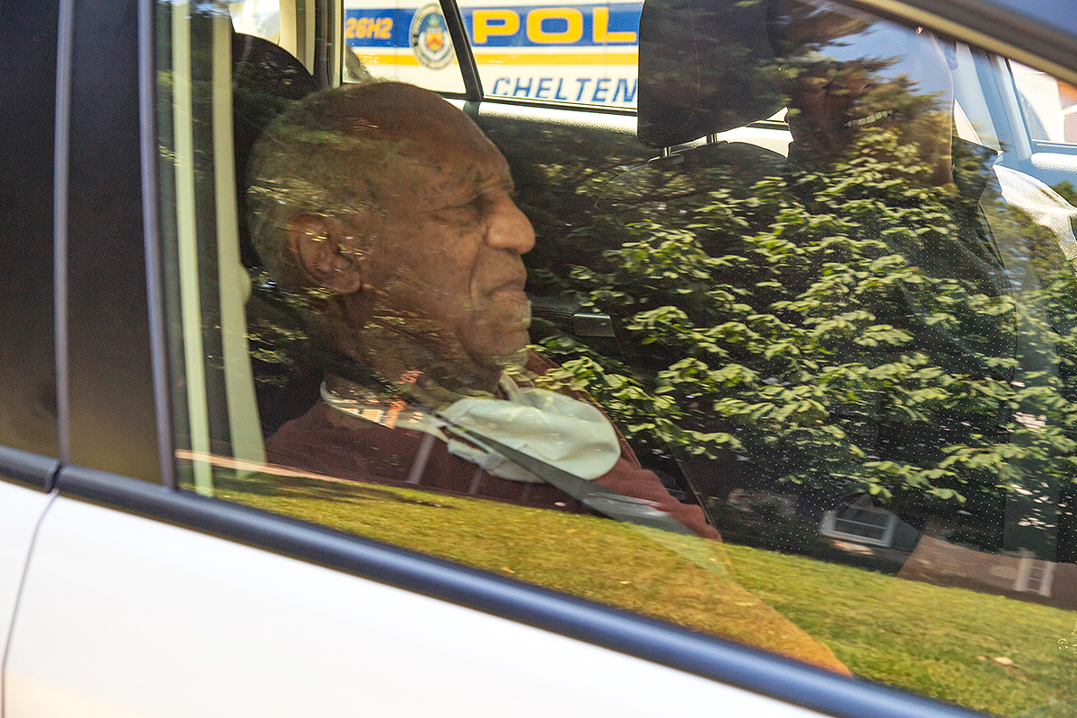Bill Cosby arrives home after being released from prison in Pennsylvania