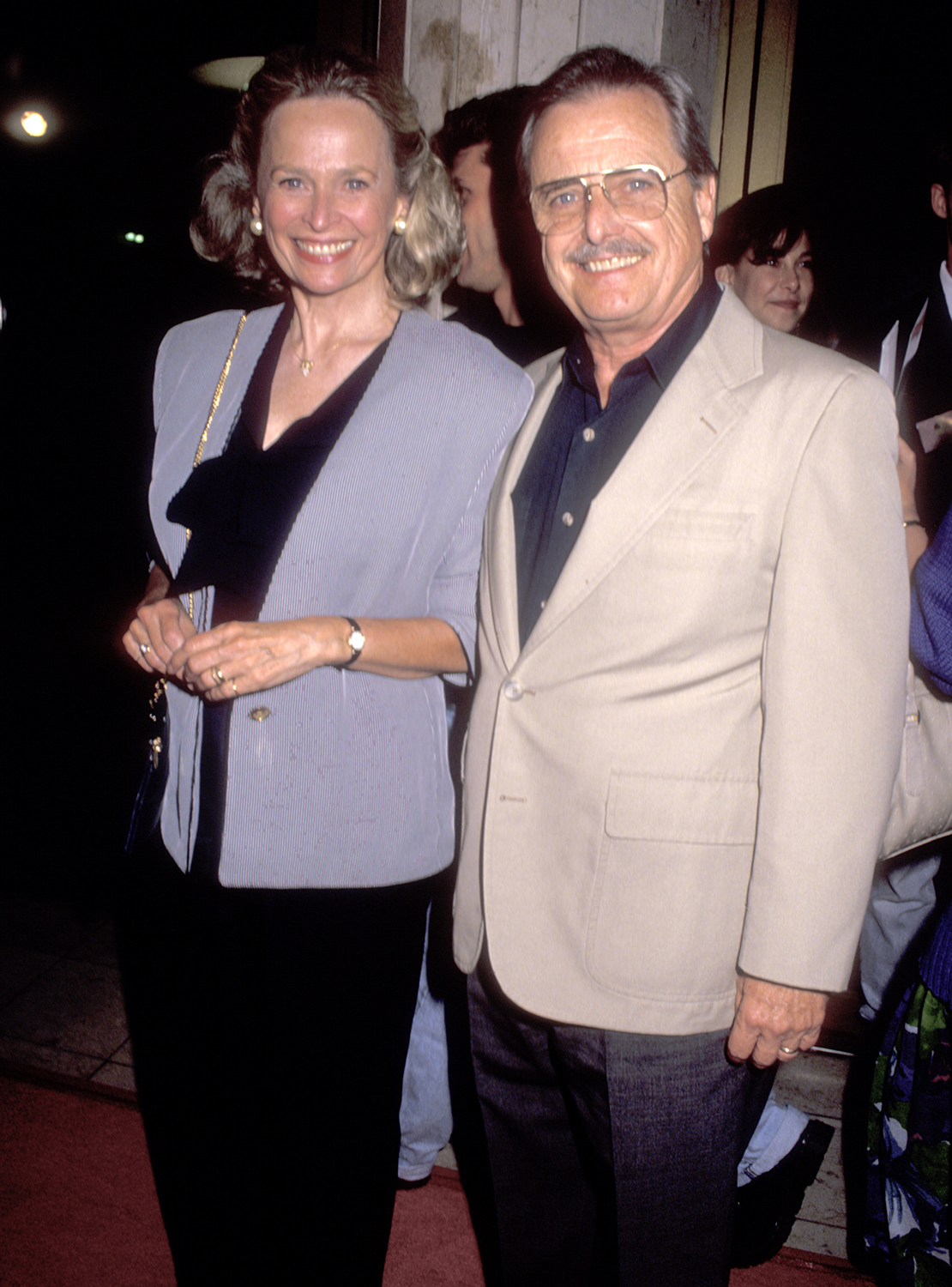 Actress Bonnie Bartlett and Actor William