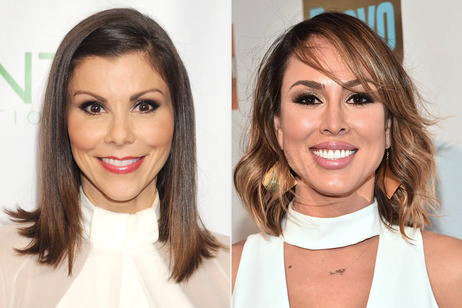 Kelly Dodd and Heather Dubrow