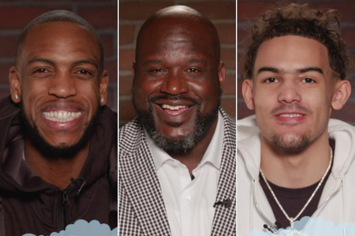 Shaquille O'Neal, Khris Middleton and Trae Young - Mean Tweets - Jimmy Kimmel Live https://app.asana.com/0/1135954362417873/1200566915259705/f Credit: ABC