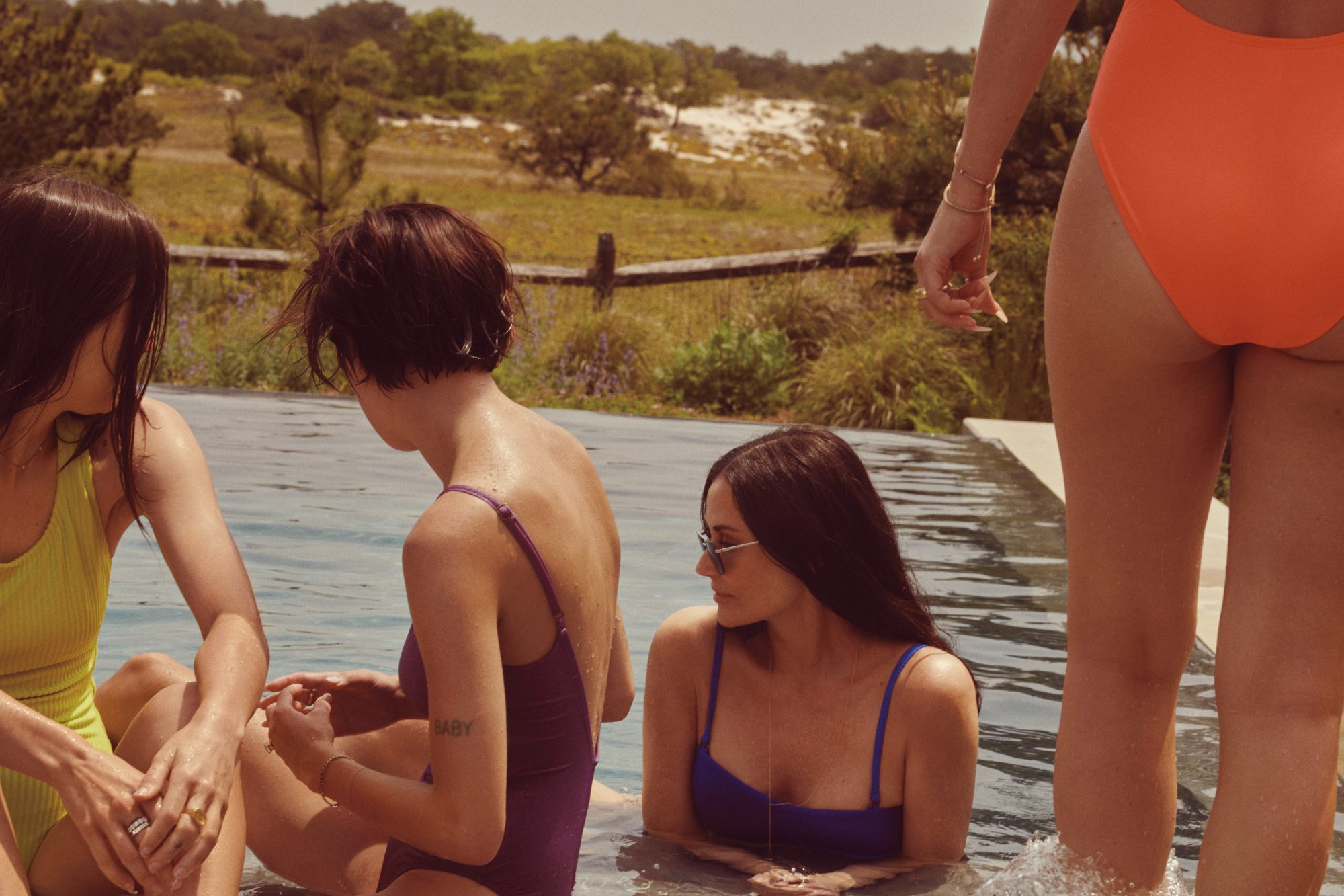 Demi Moore Says It Was 'Important' to Star Alongside Daughters in New Andie Swimwear Campaign