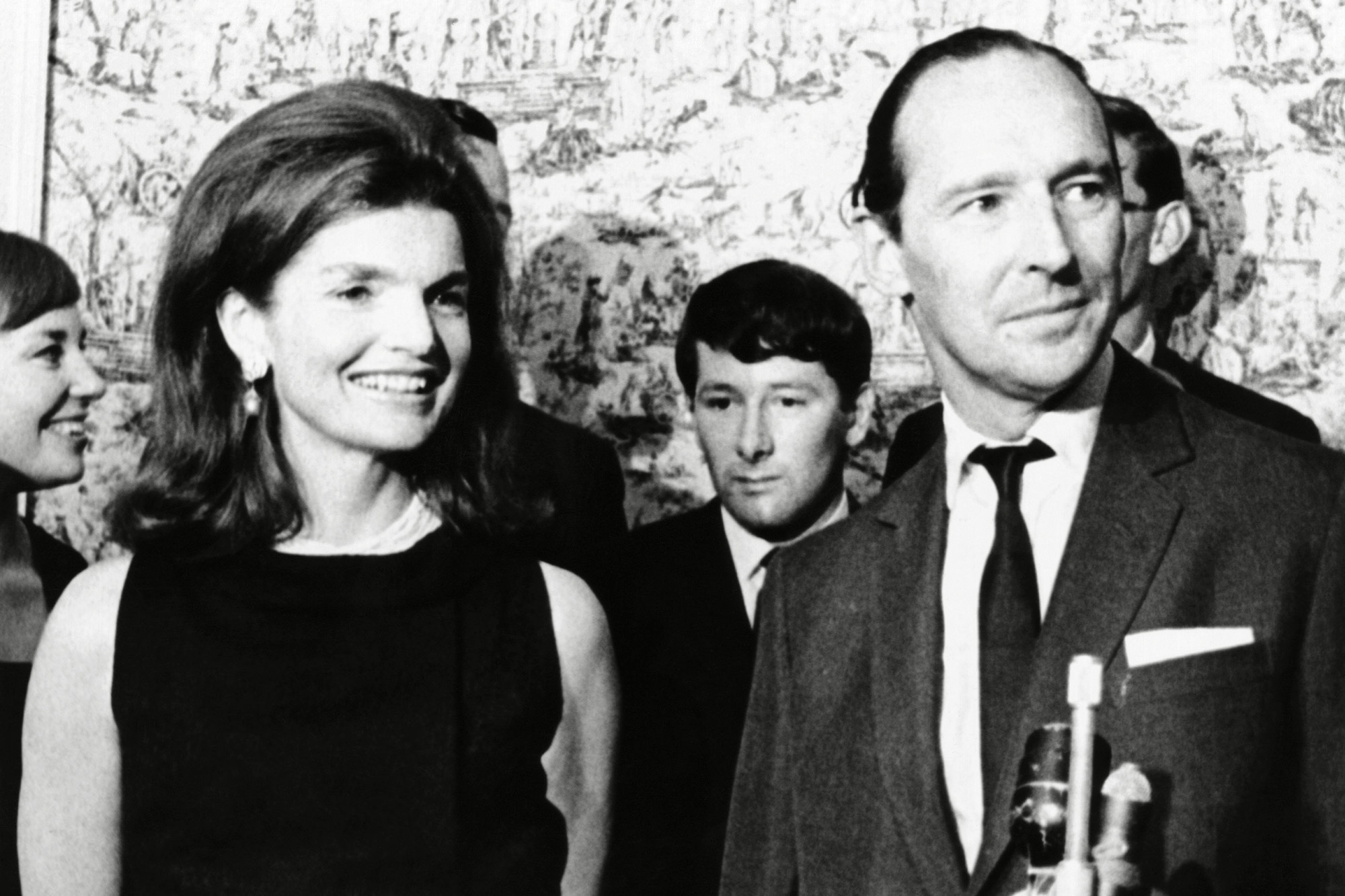 Jacqueline Kennedy with David Ormsby-Gore