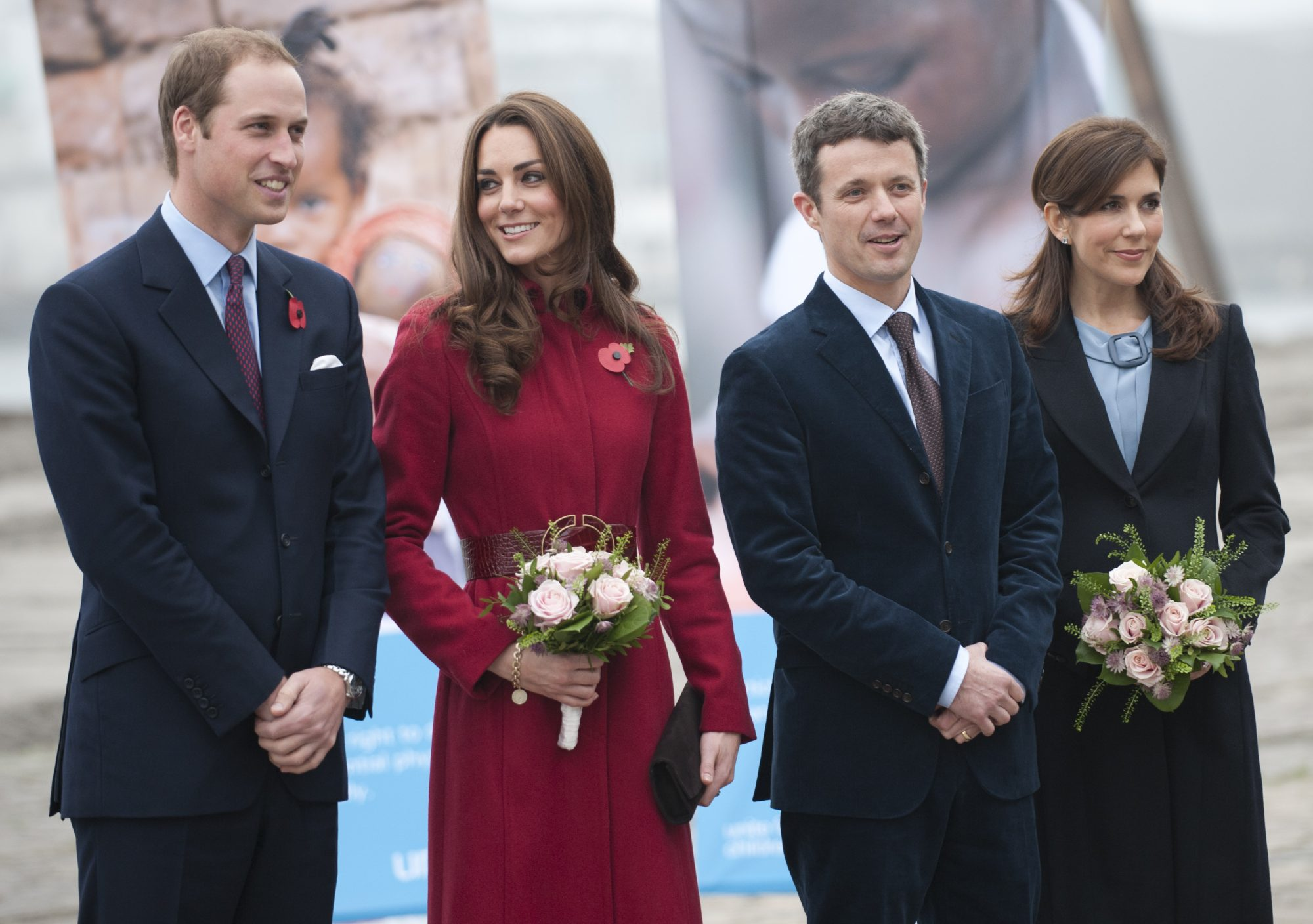Prince William And Catherine, Denmark royals