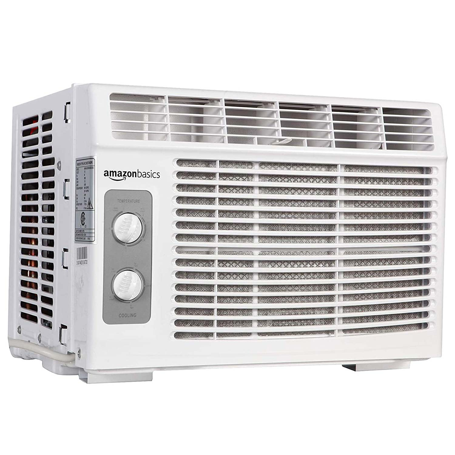Amazon Basics Window-Mounted Air Conditioner with Mechanical Control