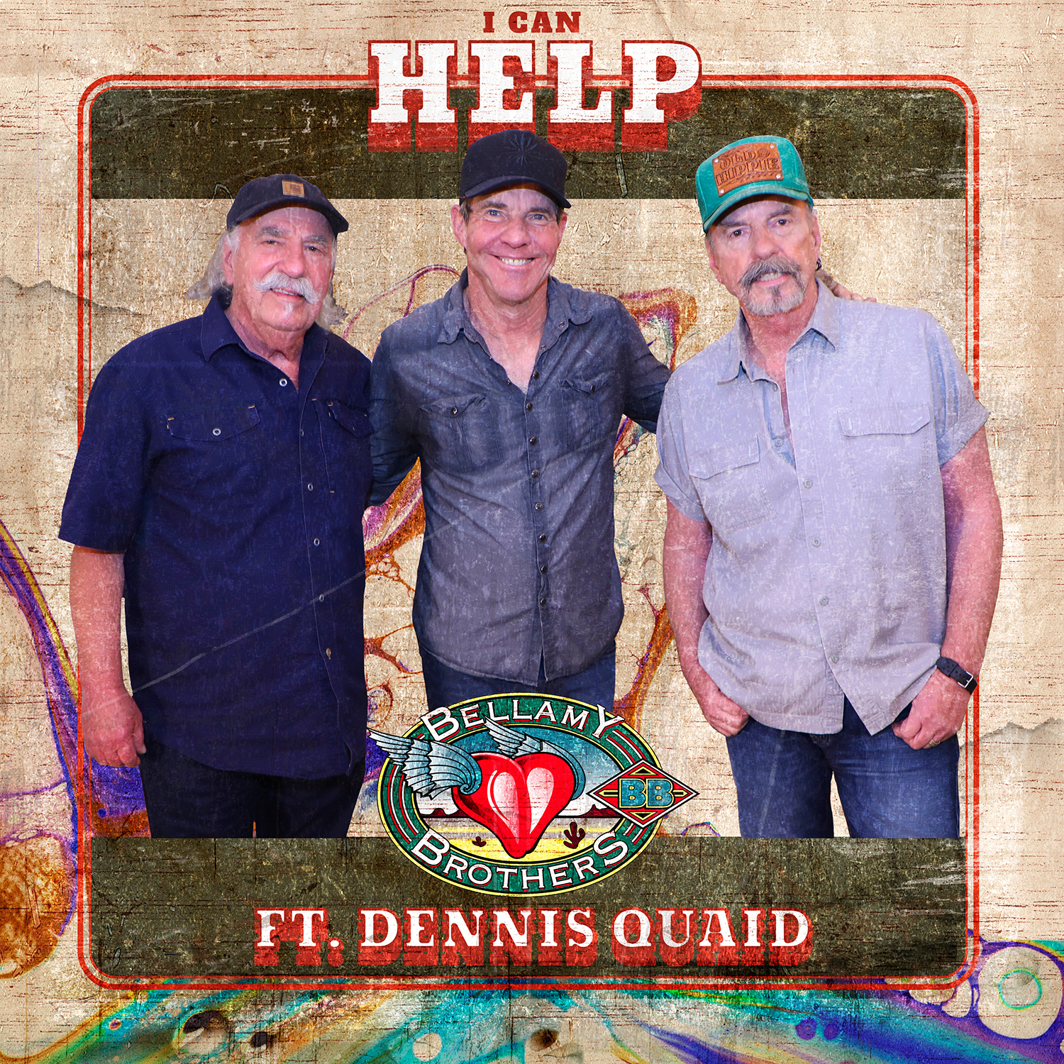 Dennis Quaid and the Bellamy Brothers