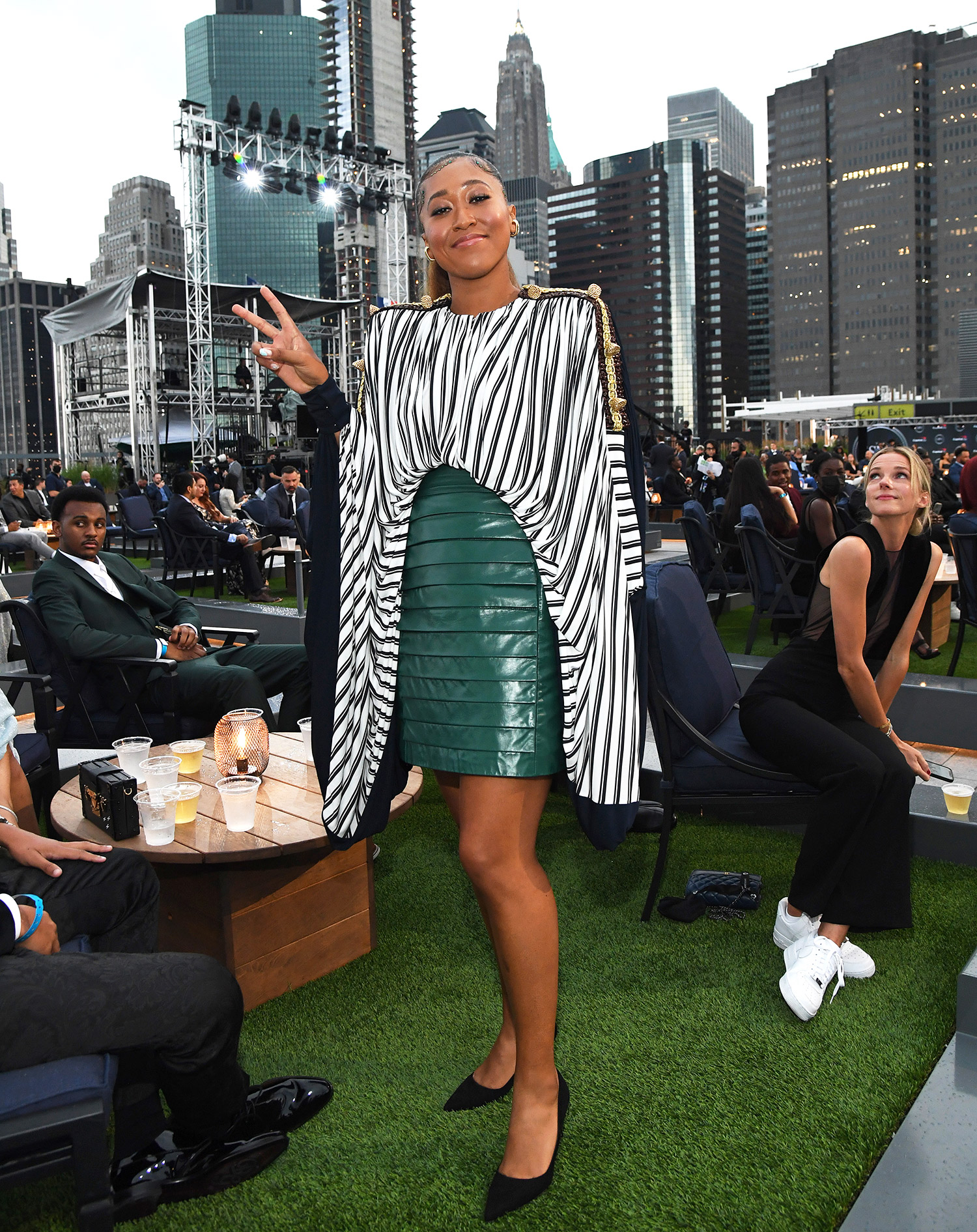 Naomi Osaka attends the 2021 ESPY Awards at Rooftop At Pier 17 on July 10, 2021 in New York City.