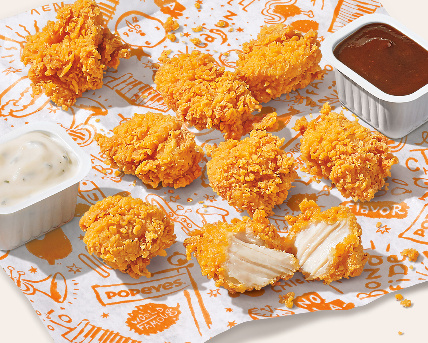 Popeyes Adds Chicken Nuggets to Its Menus Nationwide
