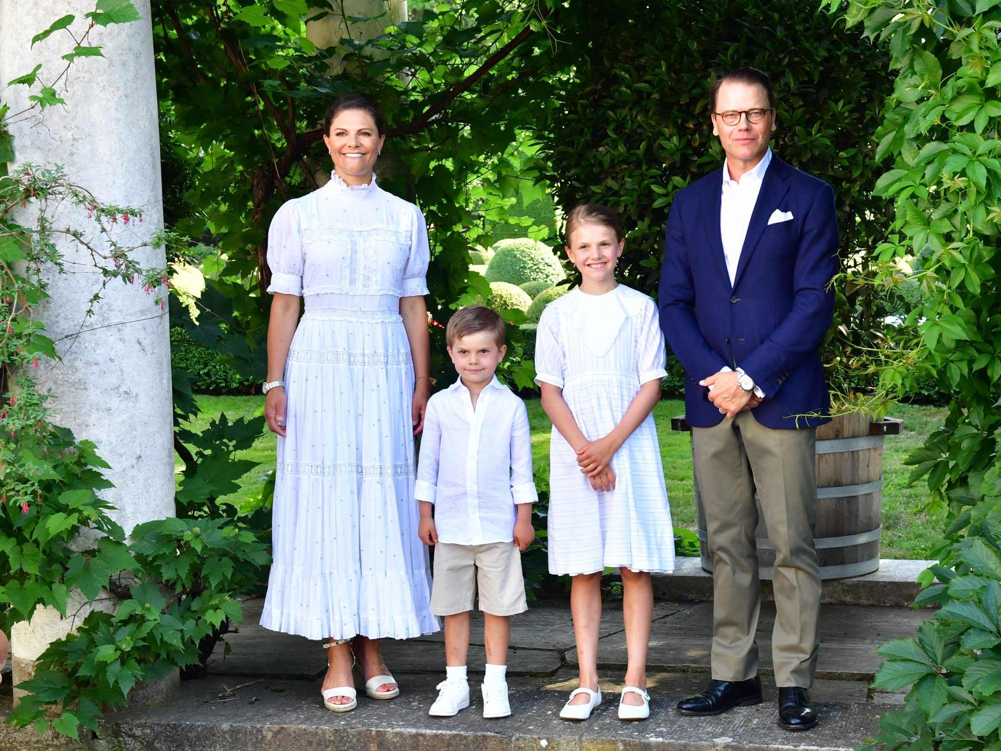 Princess Victoria and family