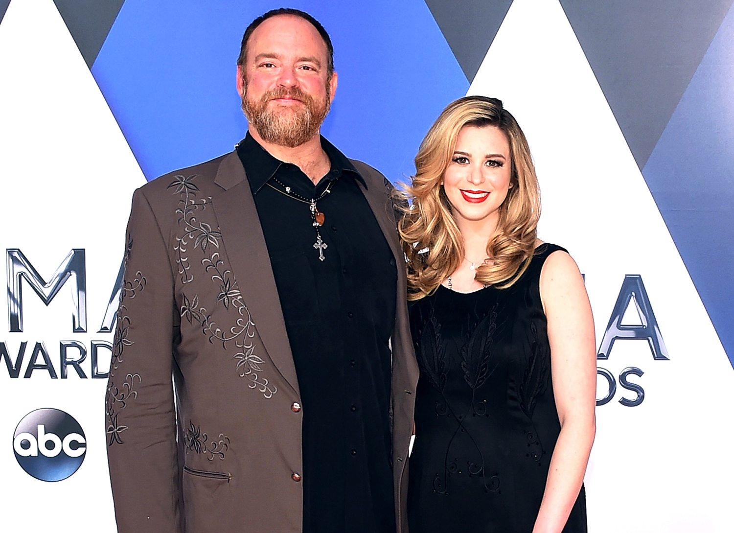John Carter Cash and singer/songwriter and Ana Cristina attend the 49th annual CMA Awards at the Bridgestone Arena on November 4, 2015 in Nashville, Tennessee.