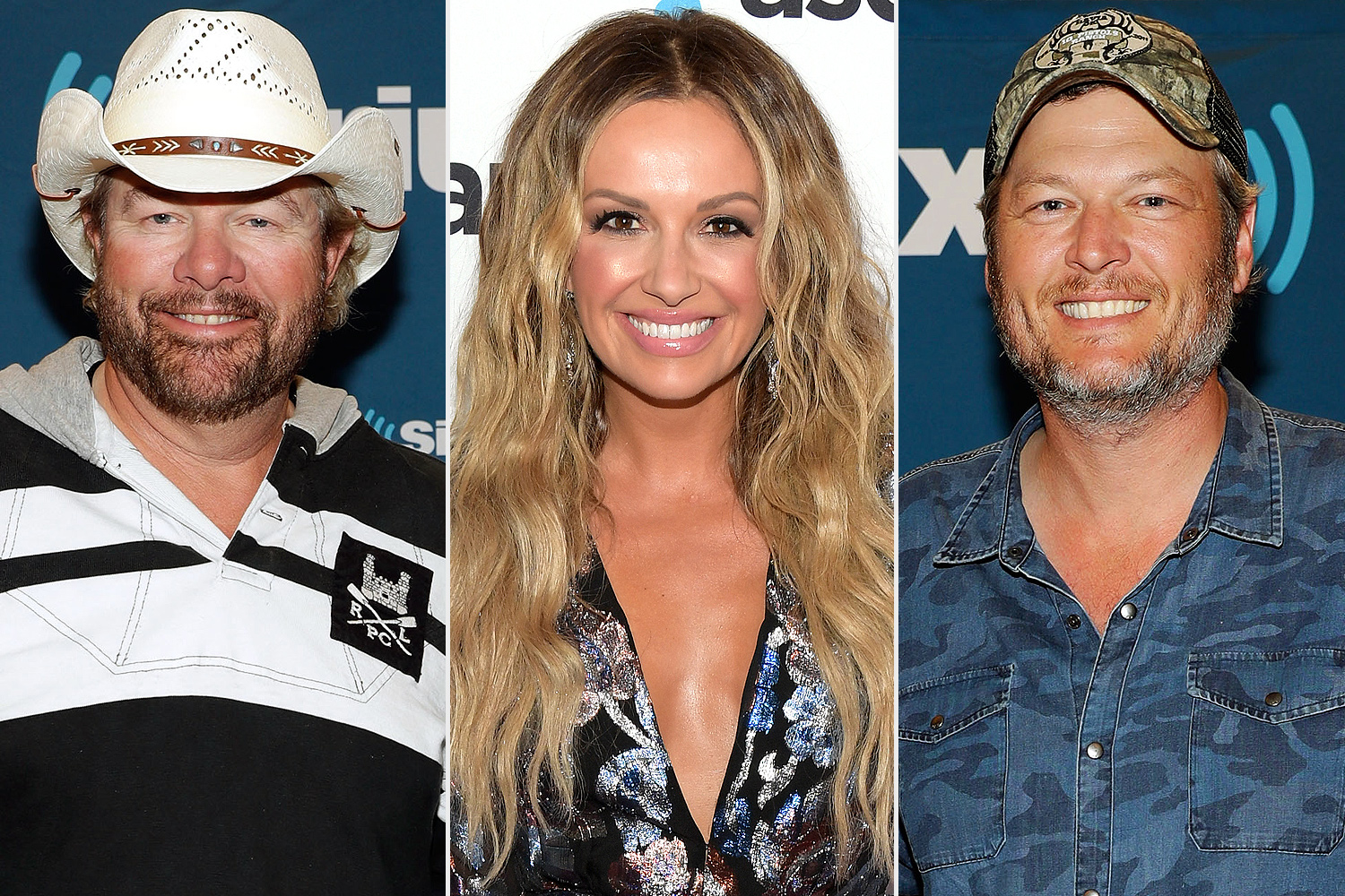 Blake Shelton, Toby Keith and Carly Pearce