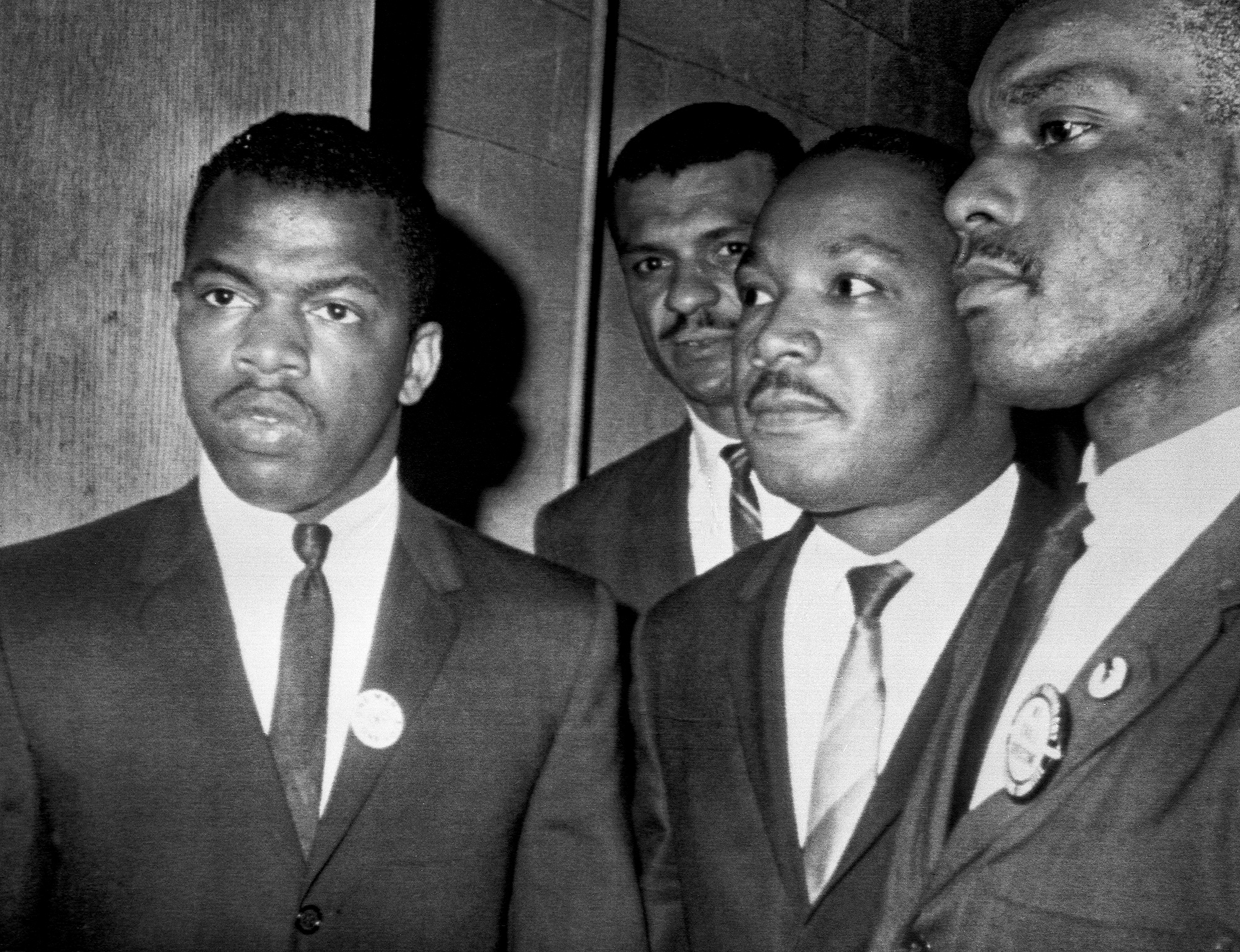 Martin Luther King Jr. with John Lewis