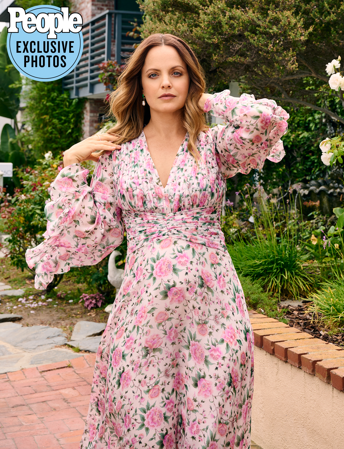 Mena Suvari photographed at her home in Manhattan Beach, CA, on July 8, 2021.