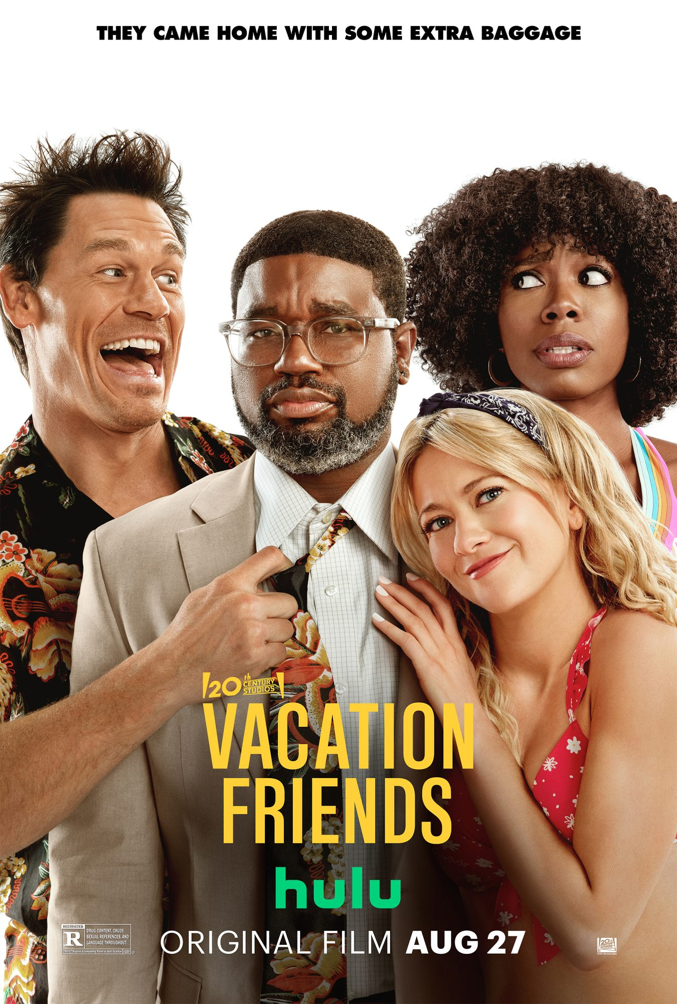 John Cena and Lil Rel Howery Star in the Comedy Vacation Friends