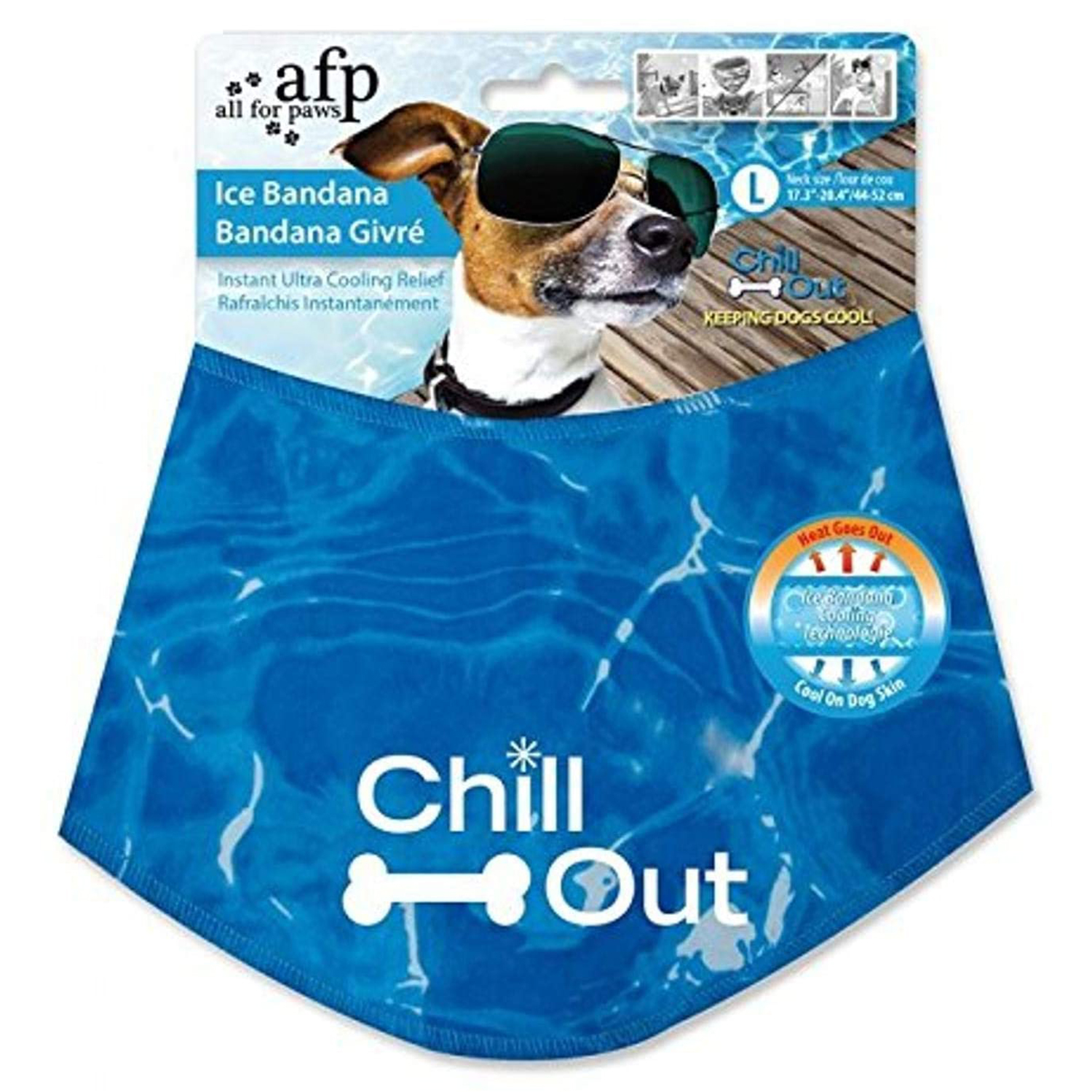 ALL FOR PAWS Chill Out Dog Ice Bandana