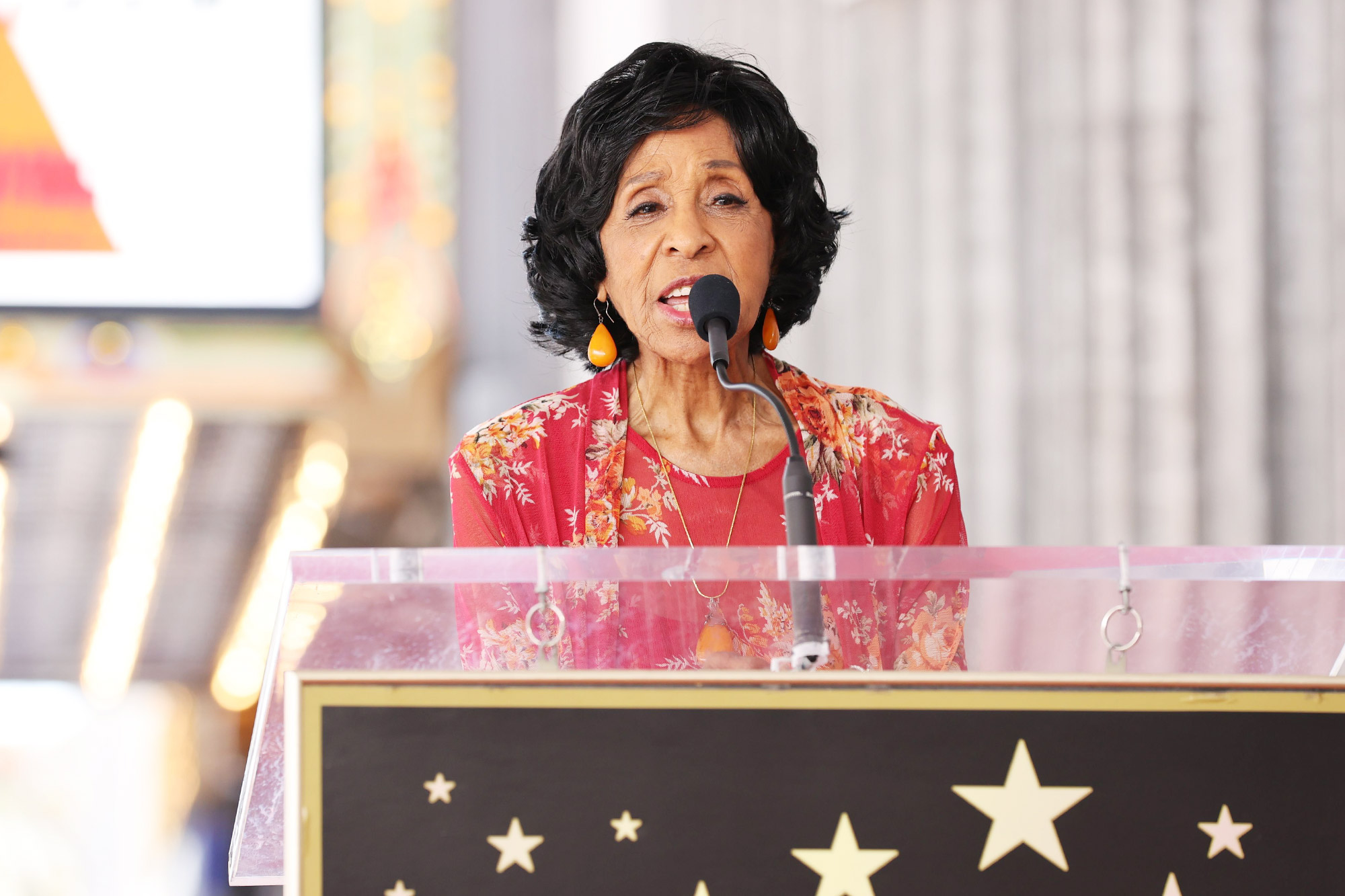Marla Gibbs Honored With Star On The Hollywood Walk Of Fame