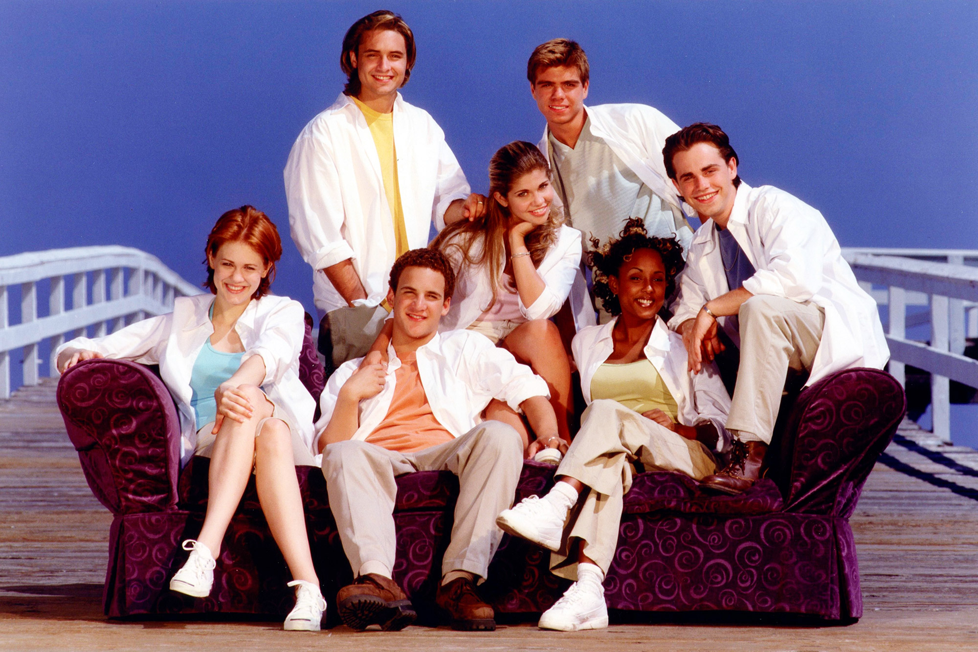 Cast of Boy Meets World in 1998