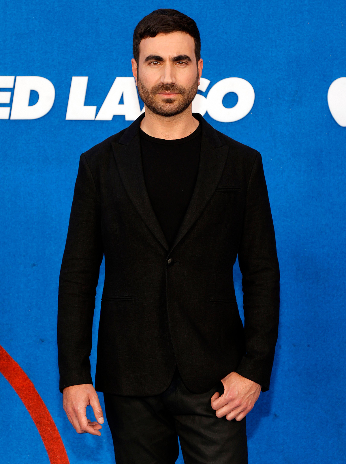 """Brett Goldstein attends Apple's """"Ted Lasso"""" season two premiere at Pacific Design Center on July 15, 2021"""