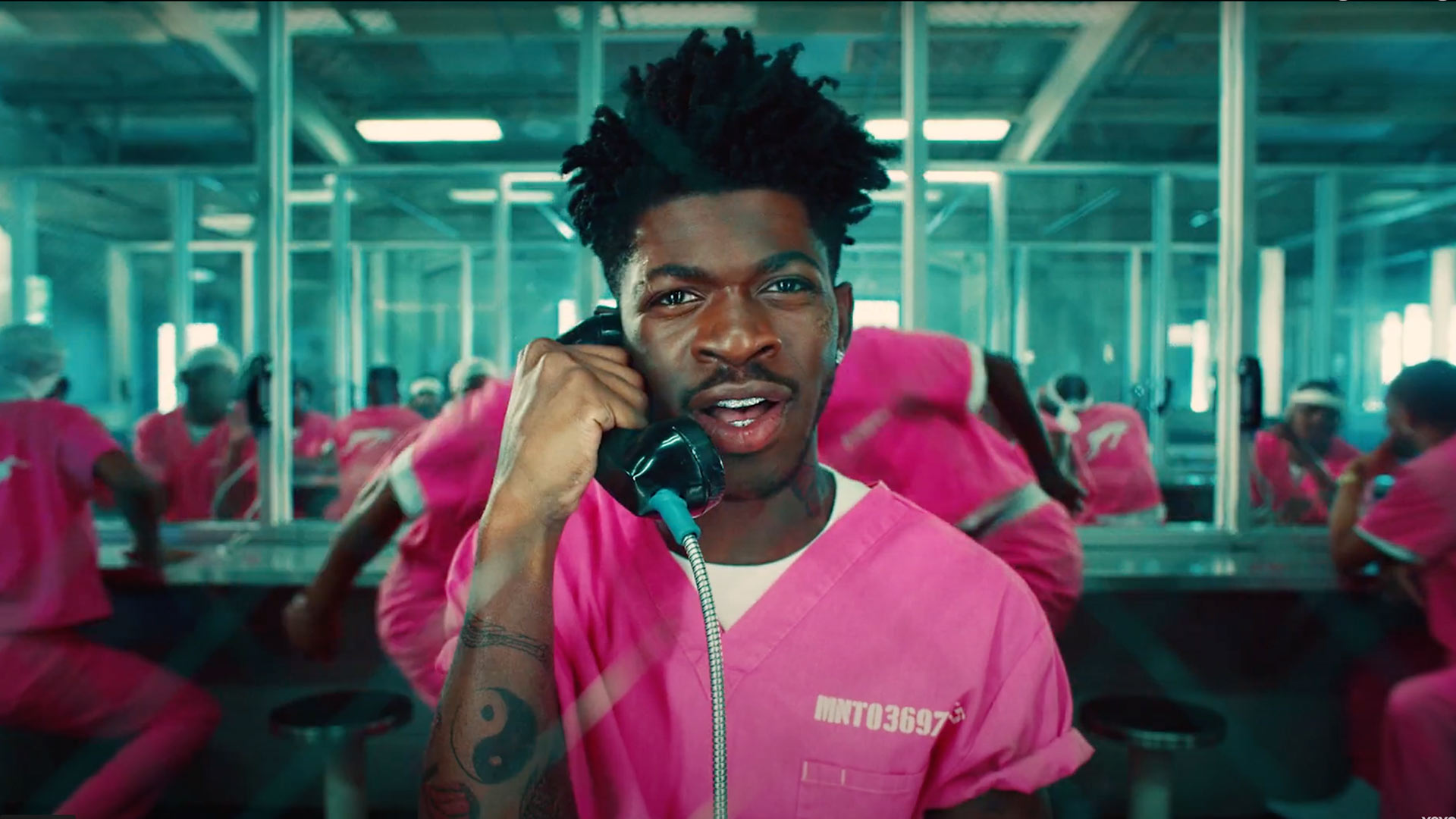 Lil Nas X Dances Nude in Music Video for New Song 'Industry Baby' Featuring Jack Harlow